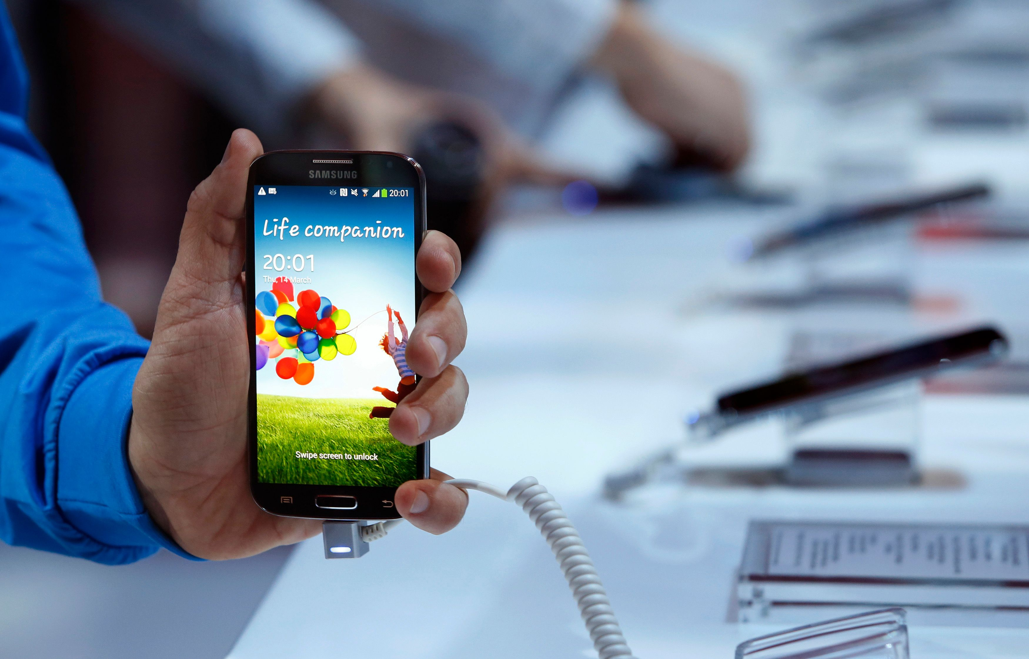 Un an après le Galaxy S4, c'est le S5 qui devrait naître prochainement