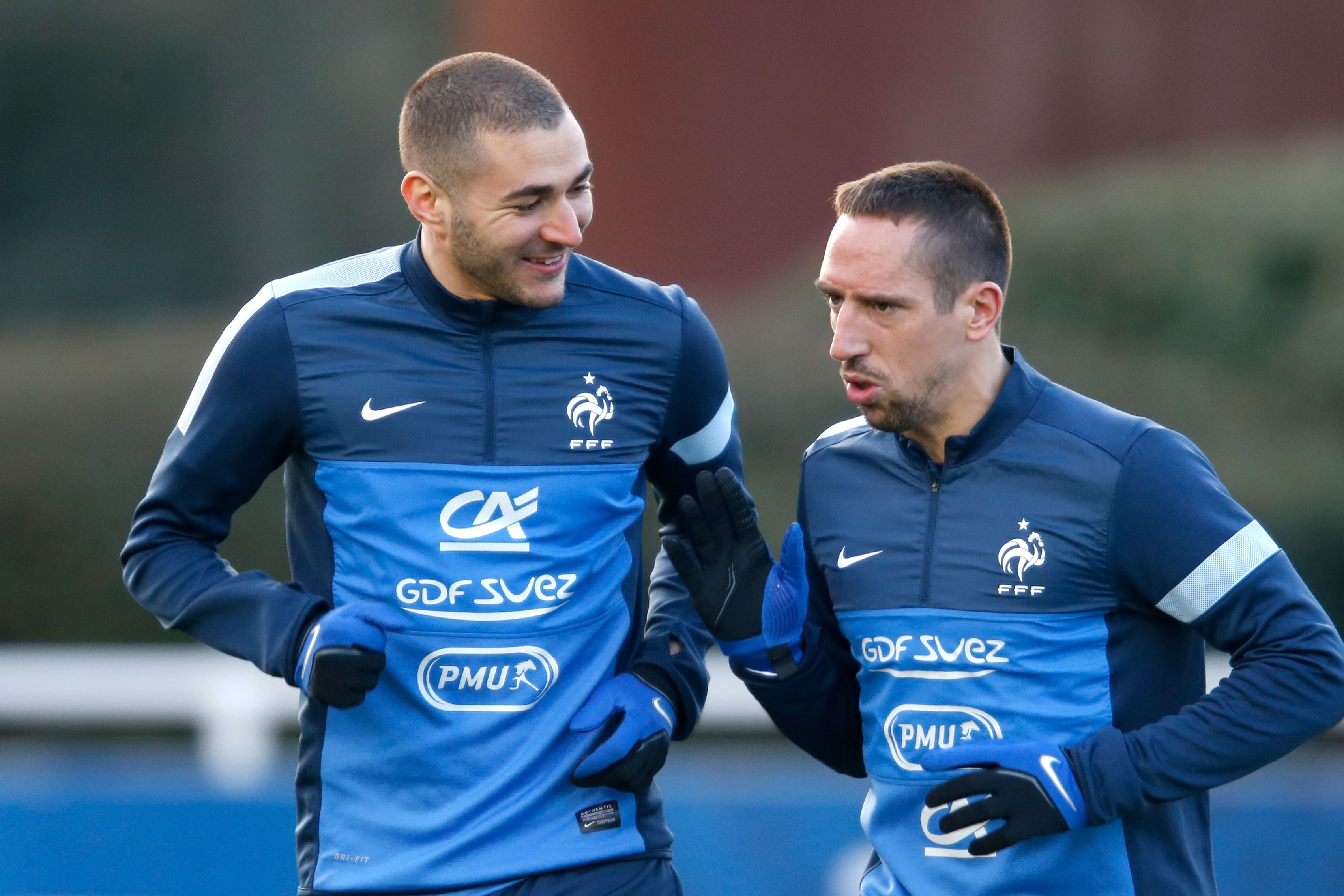 Franck Ribéry et Karim Benzema peuvent être soulagés