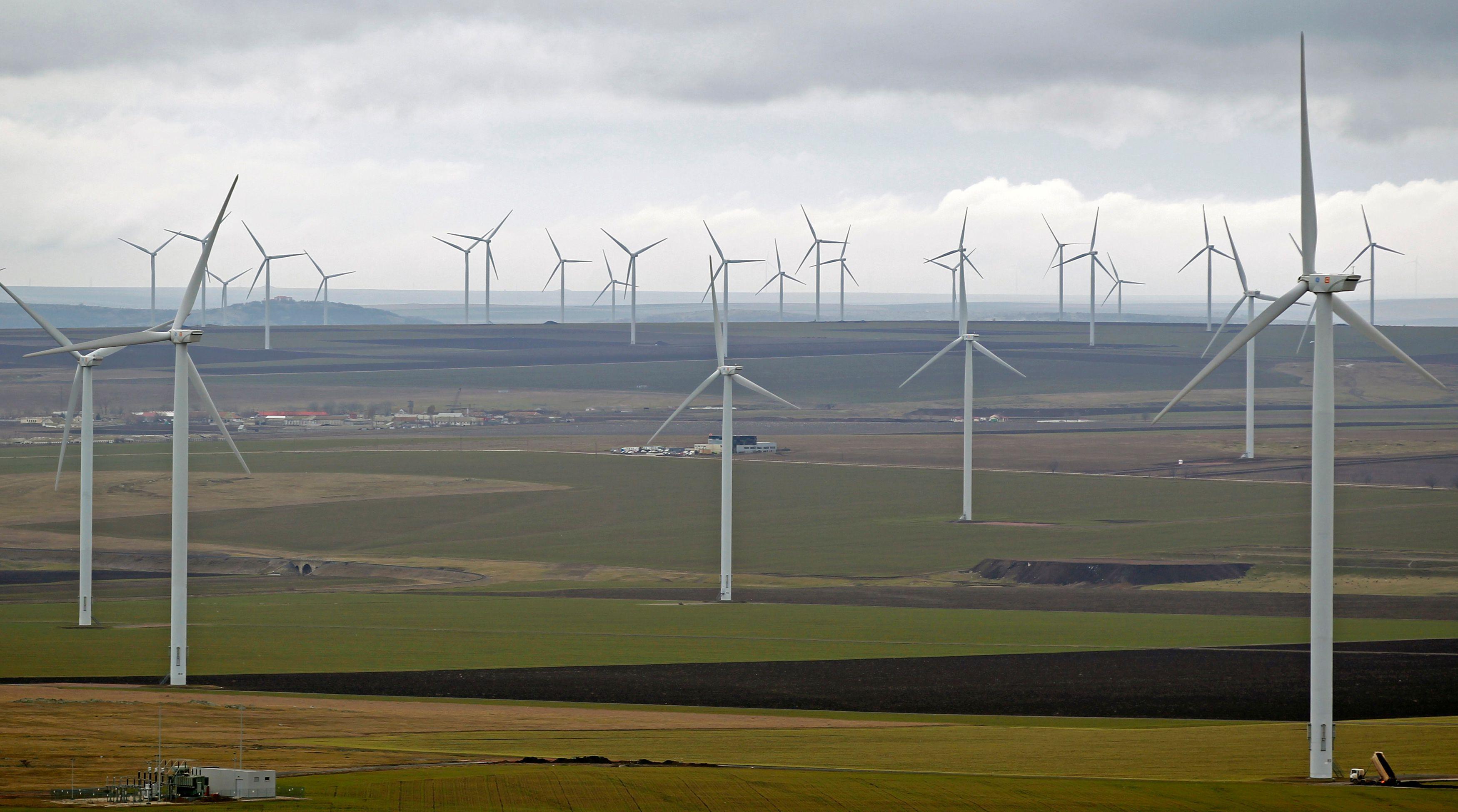 Les éoliennes françaises produiraient moins d'énergie que leurs voisines belges.
