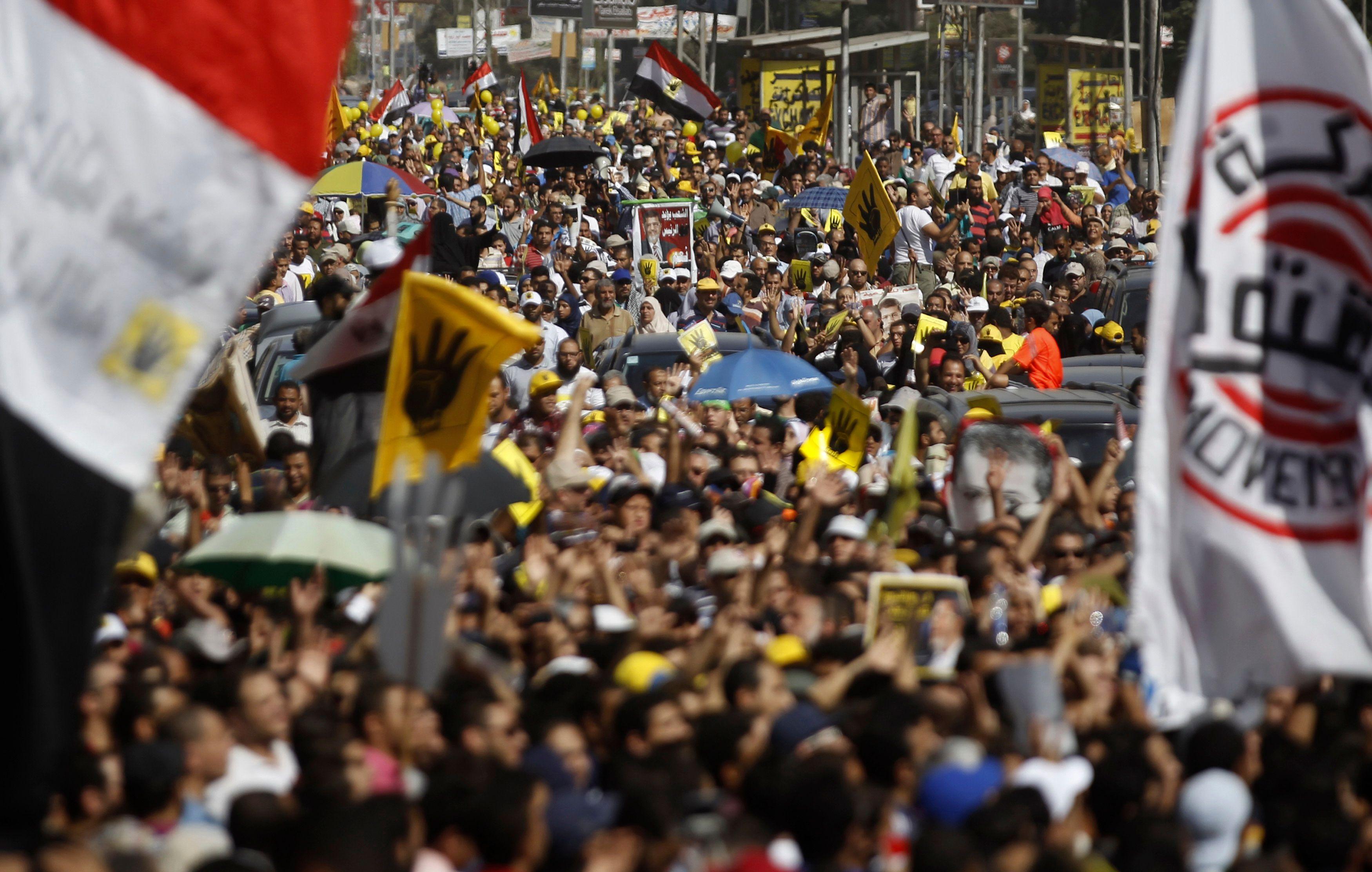 Les Frères musulmans, naguère organisation politique la plus organisée du pays, sont aujourd'hui aux abois.