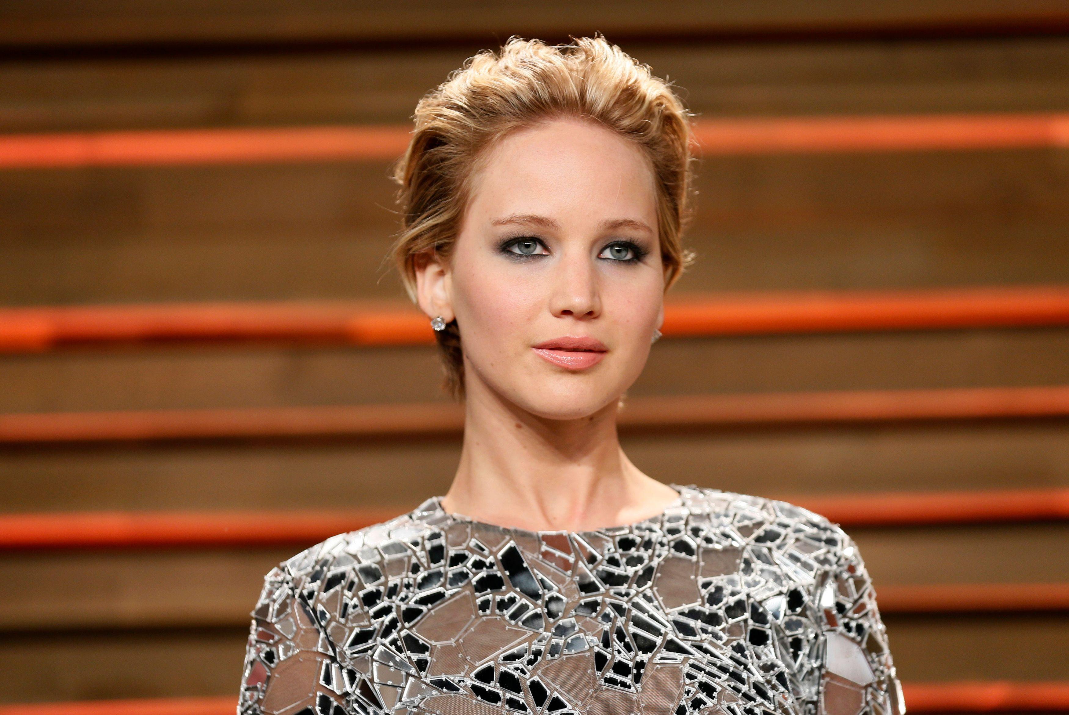 La star d'Hunger Games, Jennifer Lawrence.