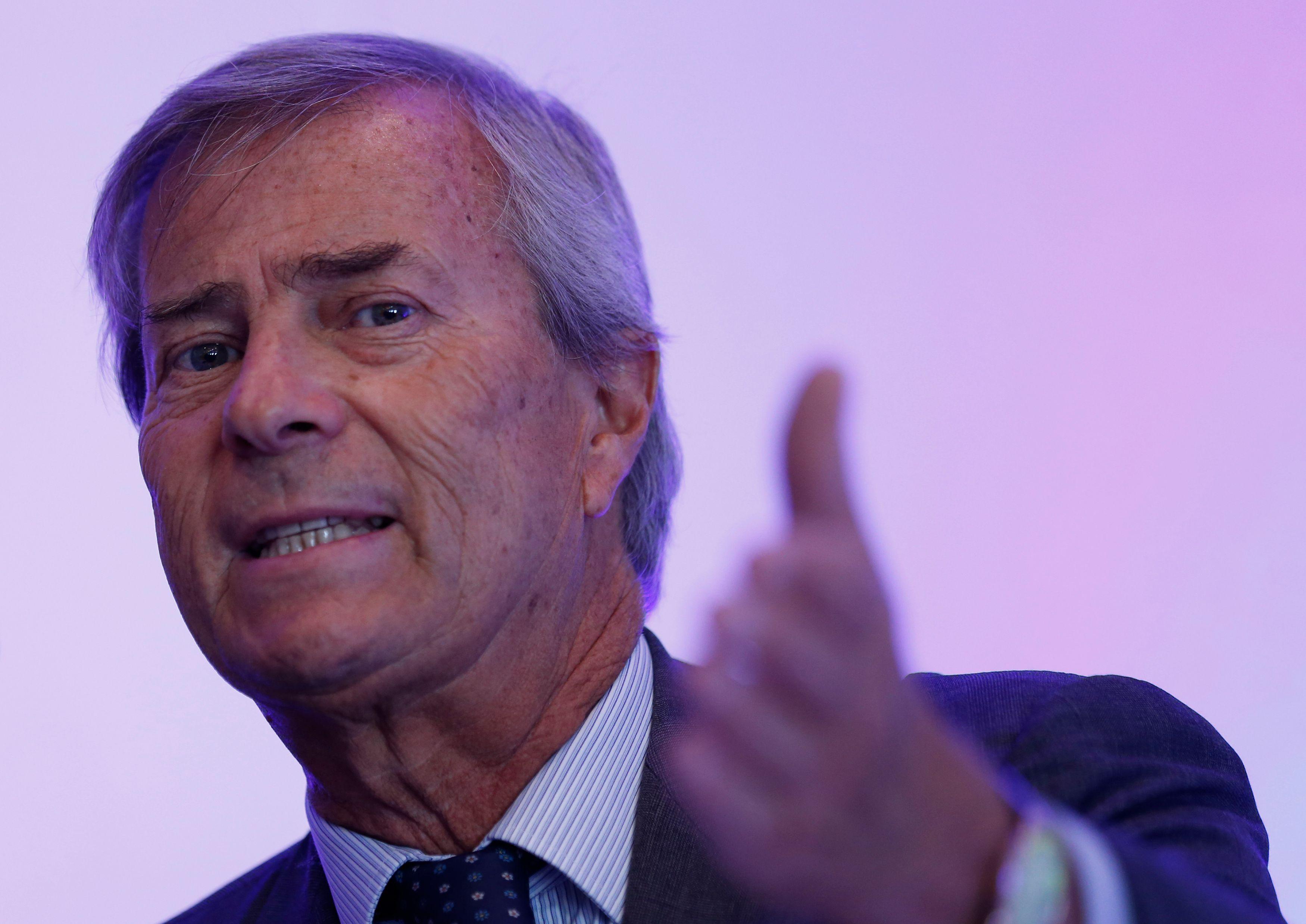 """""""On dit que je suis la cause des pertes, mais j'en suis la conséquence et peut-être la solution"""", a notamment déclaré le patron de Vivendi."""