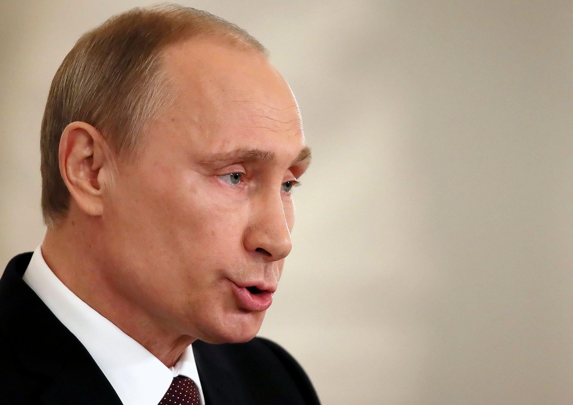 Le président russe Vladimir Poutine n'a plus peur d'affronter les occidentaux.