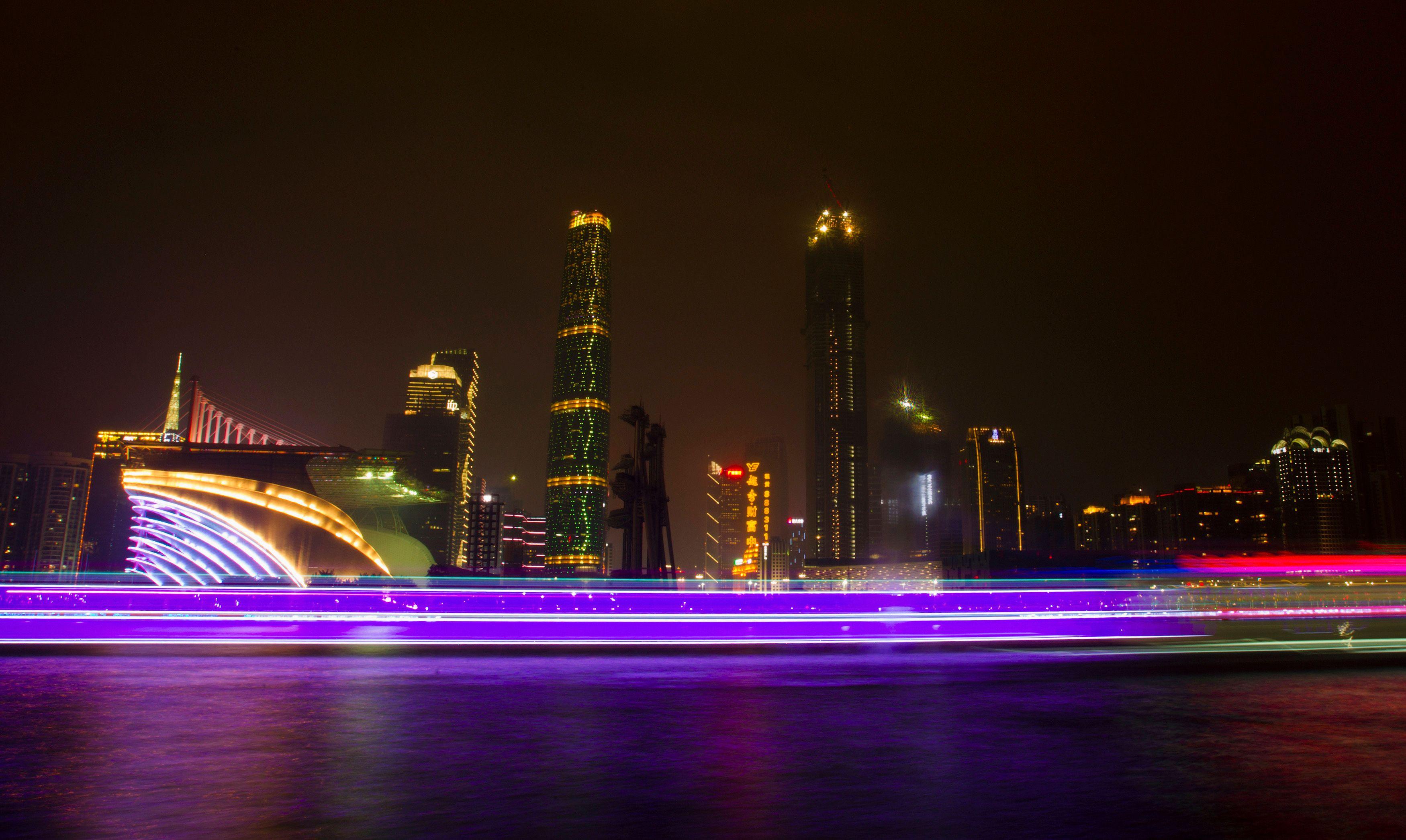 Guangzhou en Chine.