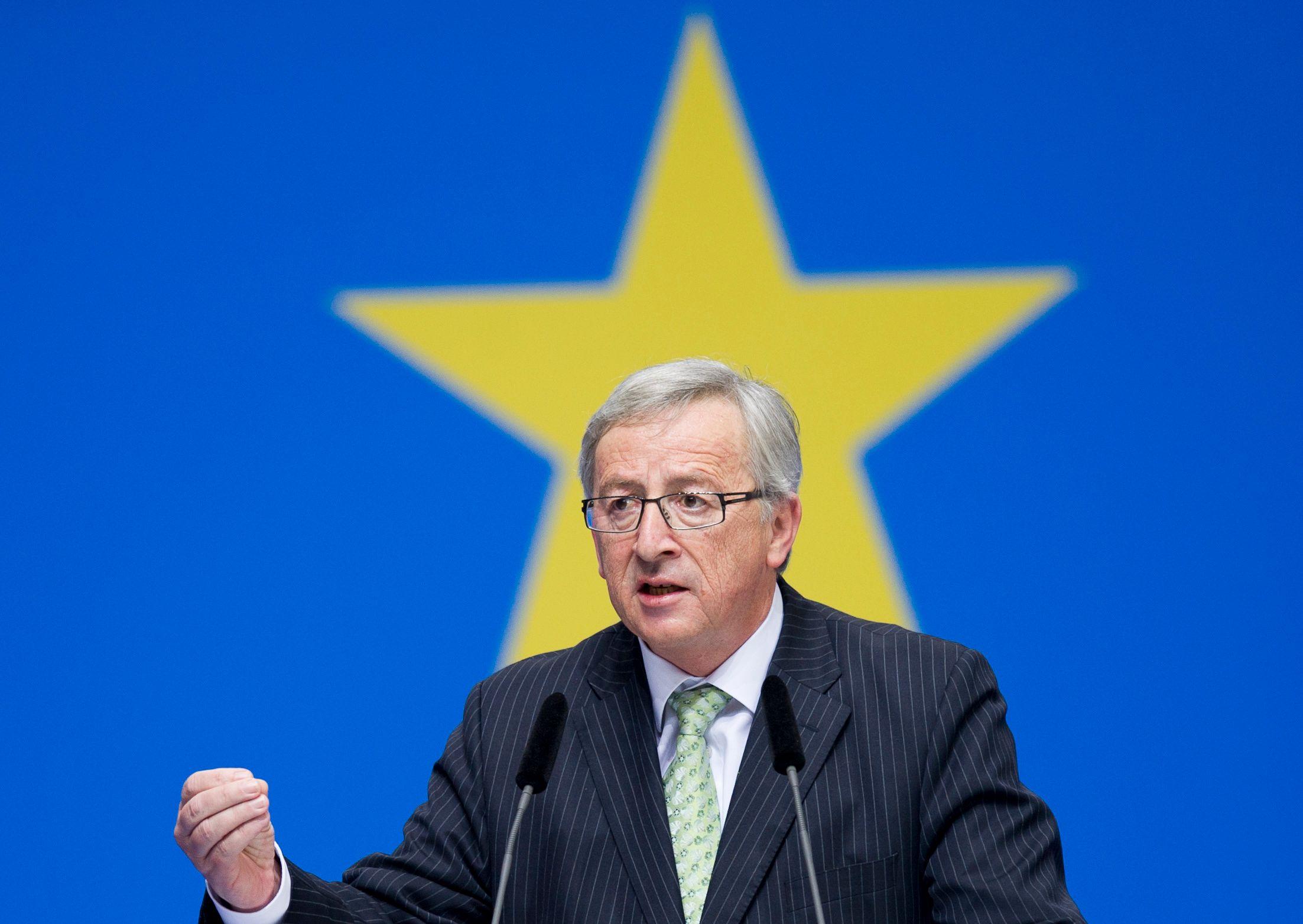 Jean-Claude Juncker, président de la Commission européenne.