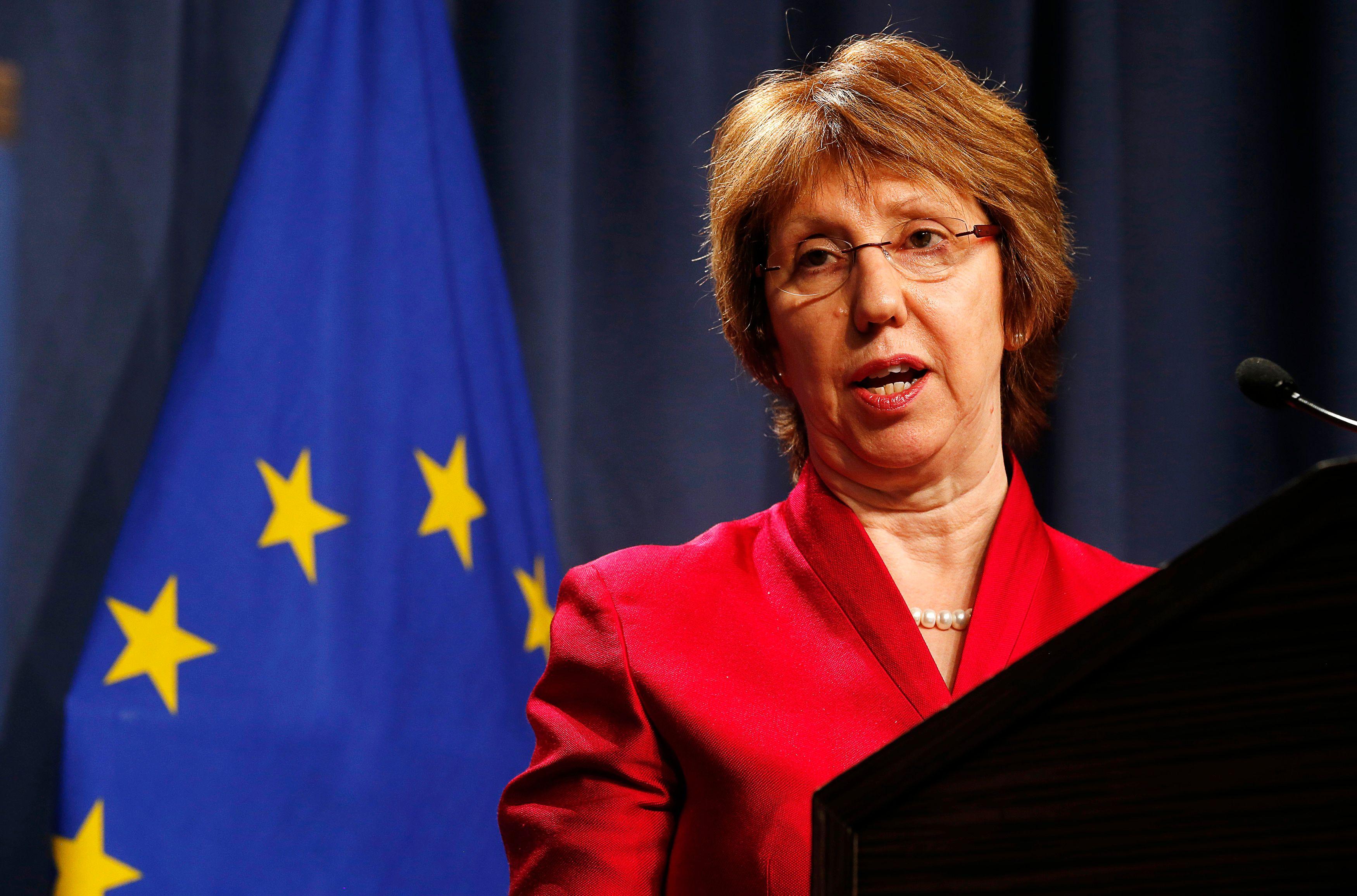 Ce samedi 30 août, Catherine Ashton, la chef de la diplomatie européenne arrive en fin de mandat