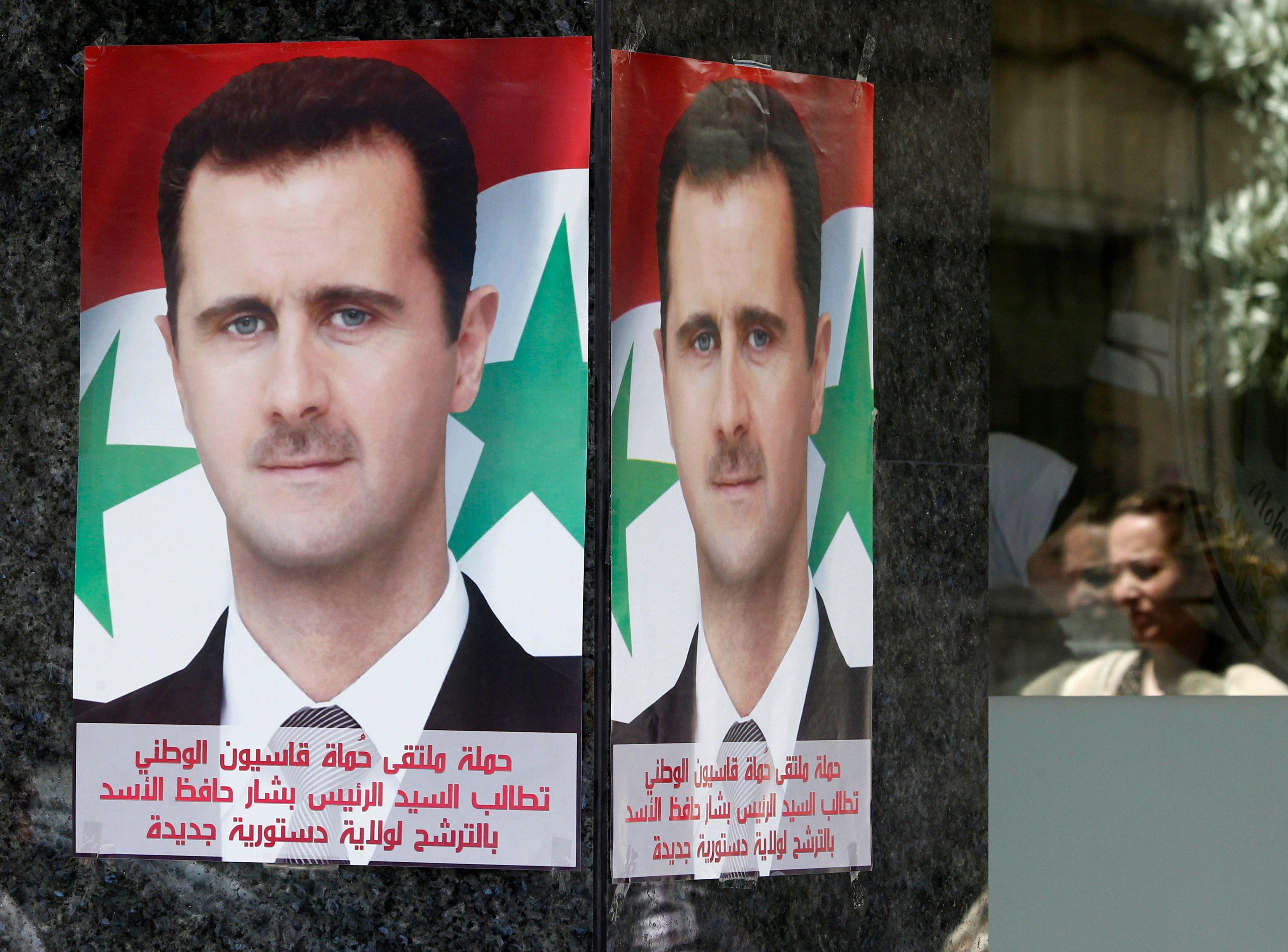 Les milices d'el-Assad auraient tué 7 894 personnes.