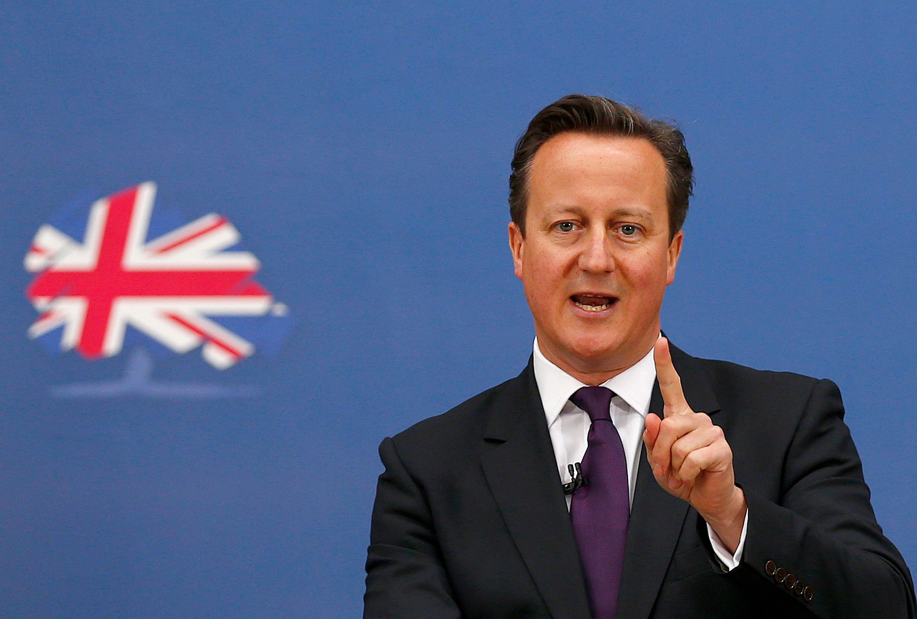 """""""Le rêve d'une démocratie de propriétaires est bien vivant"""" a déclaré David Cameron."""