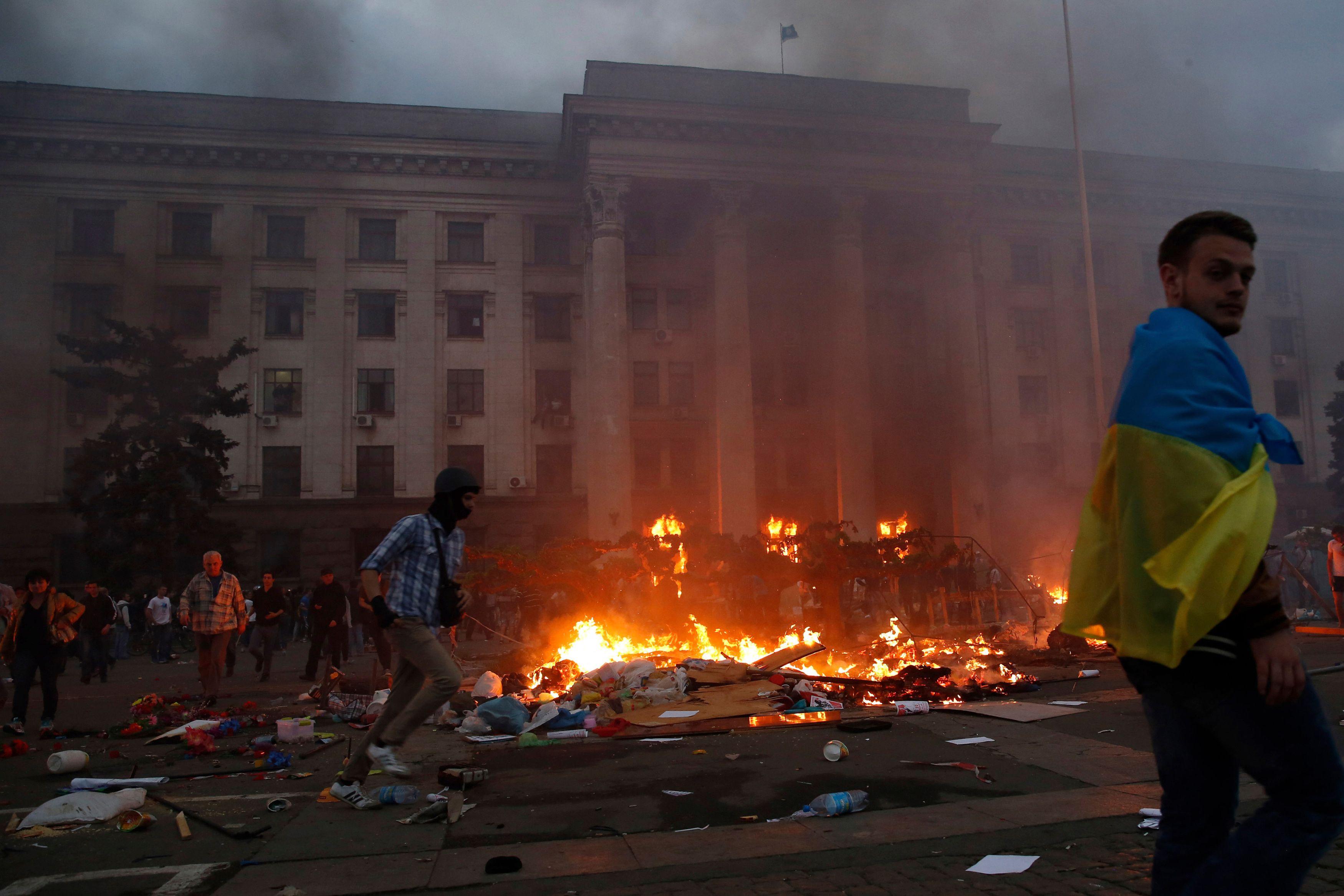 Ukraine : les affrontements à Odessa font au moins 38 morts