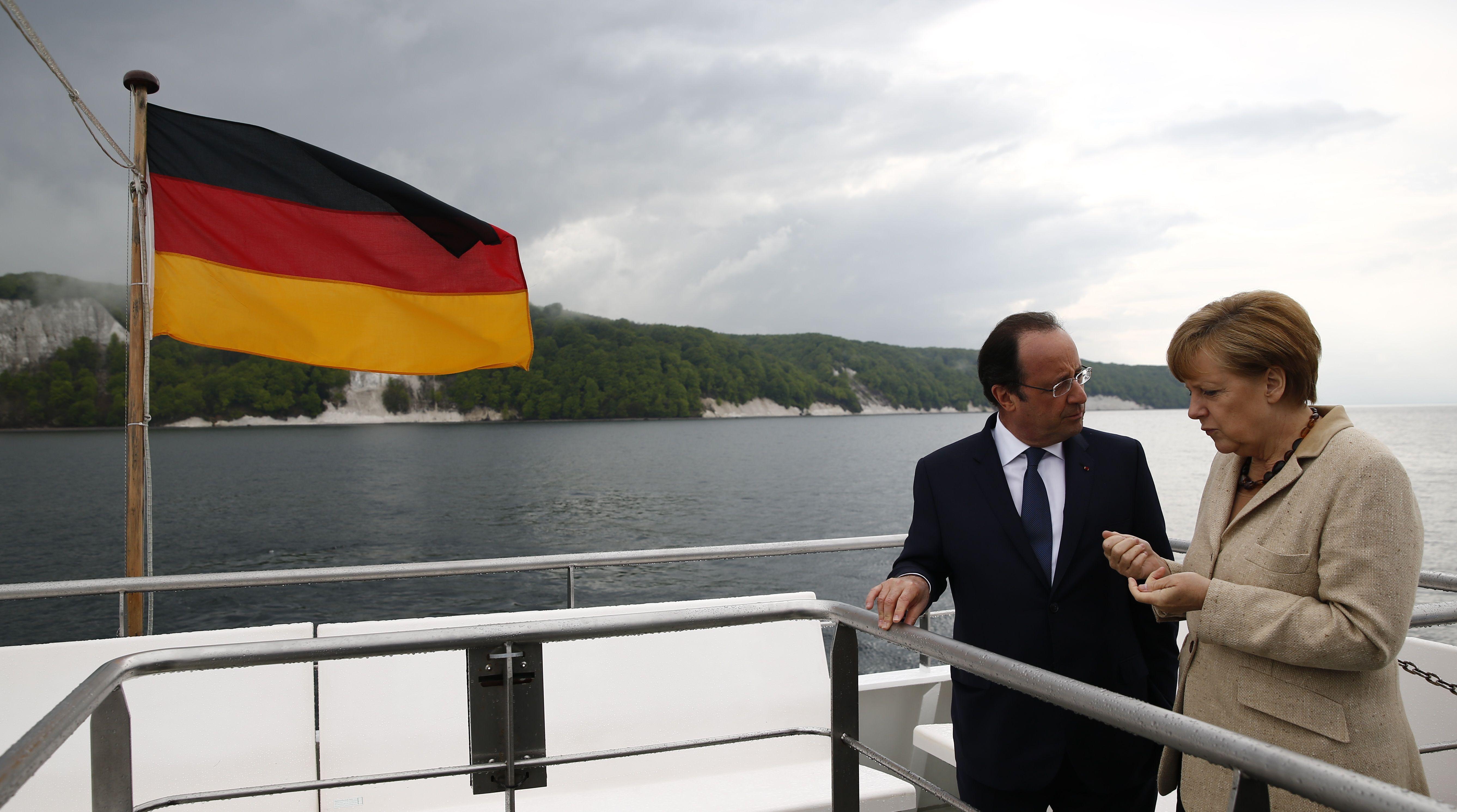 Les Allemands ont-ils encore besoin de nous et de la zone euro (à part pour les week-ends Angela-François) ?