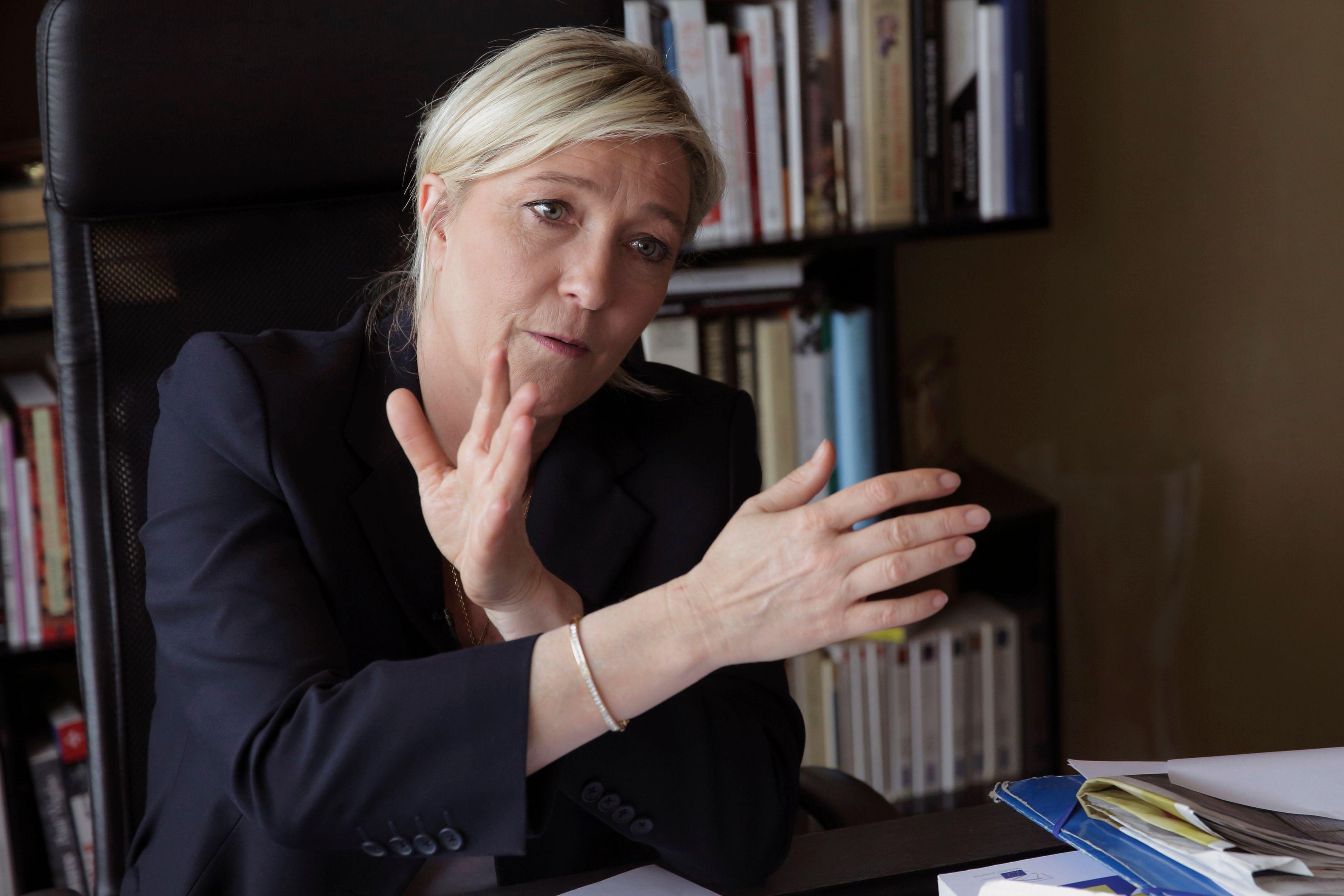 Le mois de janvier n'a pas été de tout repos pour Marine Le Pen.