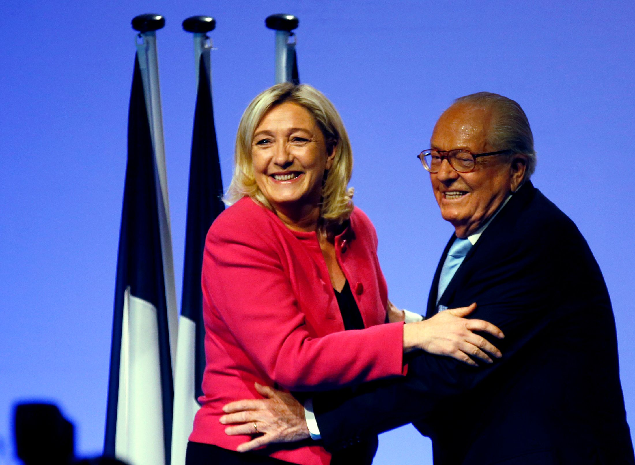 Le père et la fille Le Pen