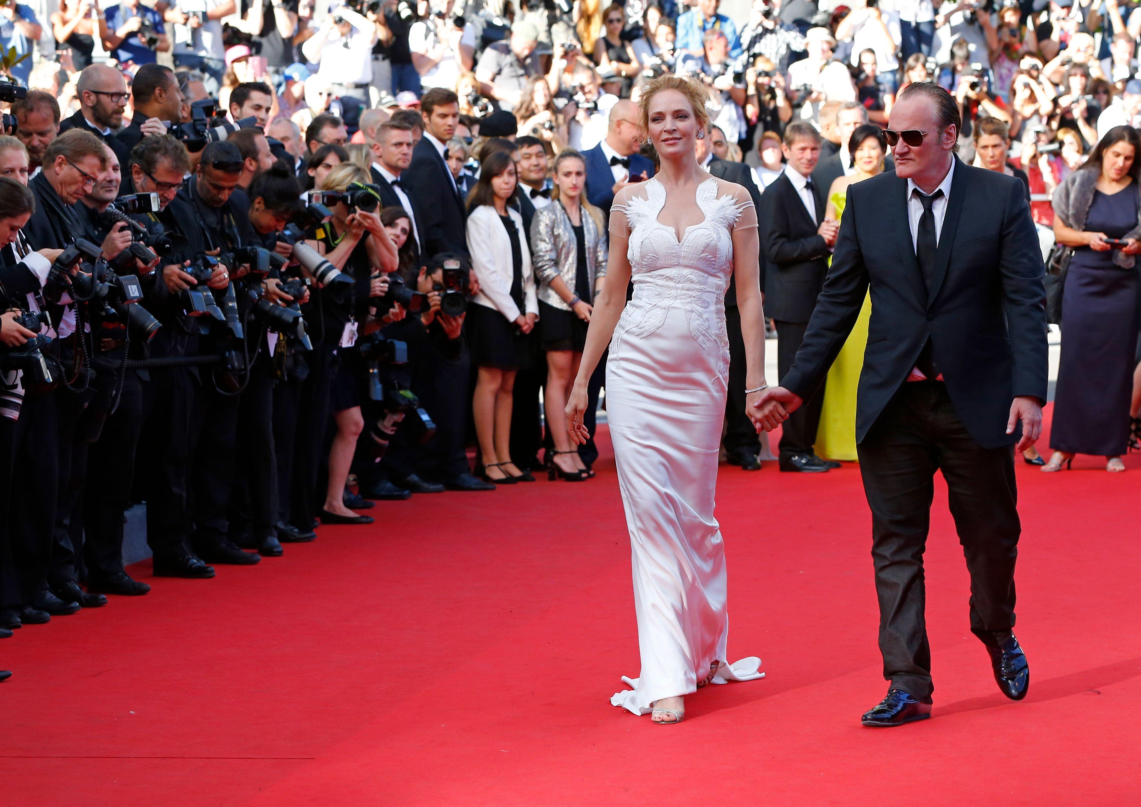 Uma Thurman revient sur sa relation supposée avec Quentin Tarantino
