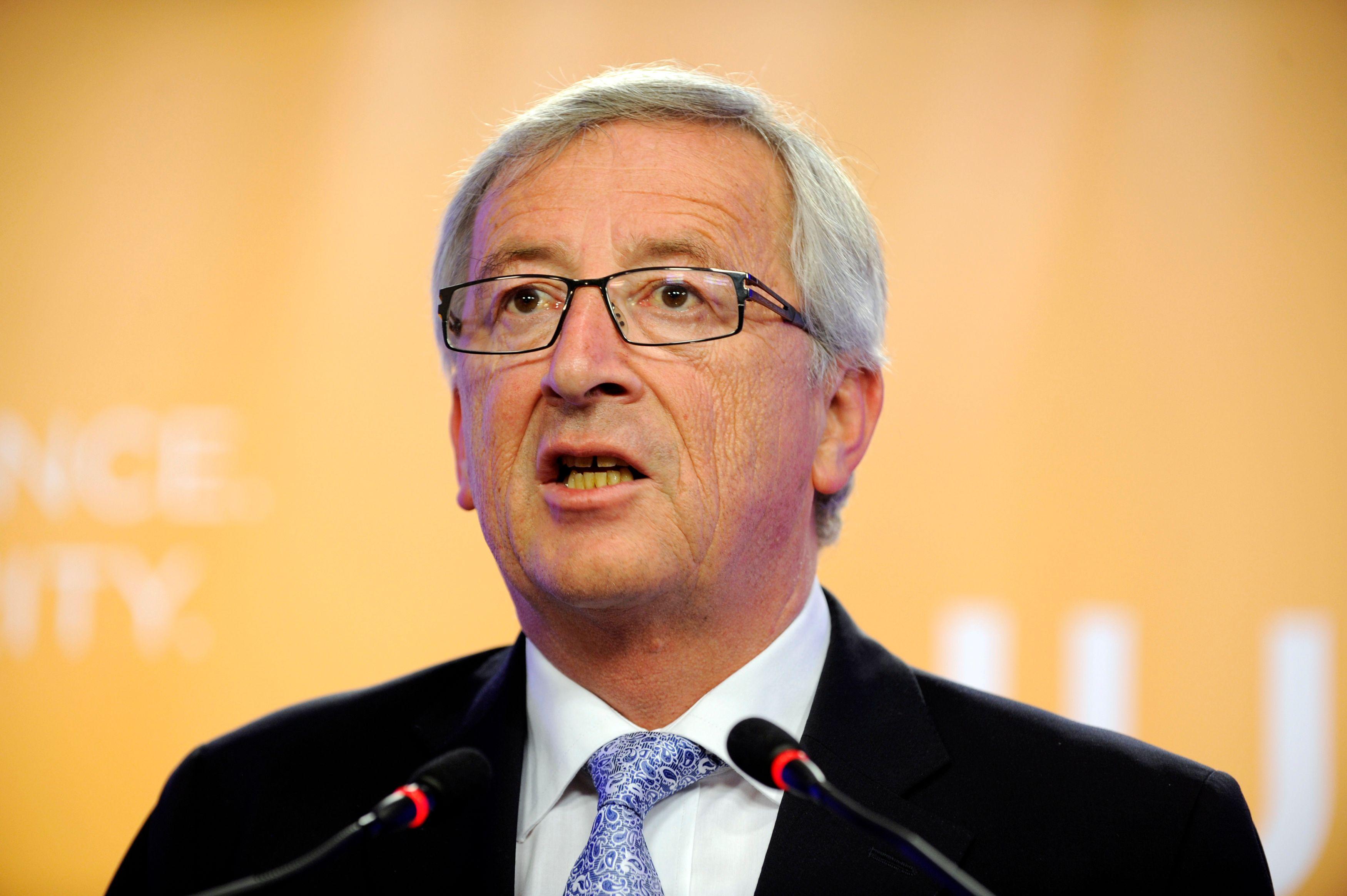"""Pour Jean-Claude Juncker, président de la Commission européenne, """"la monnaie unique protège l'Europe"""""""