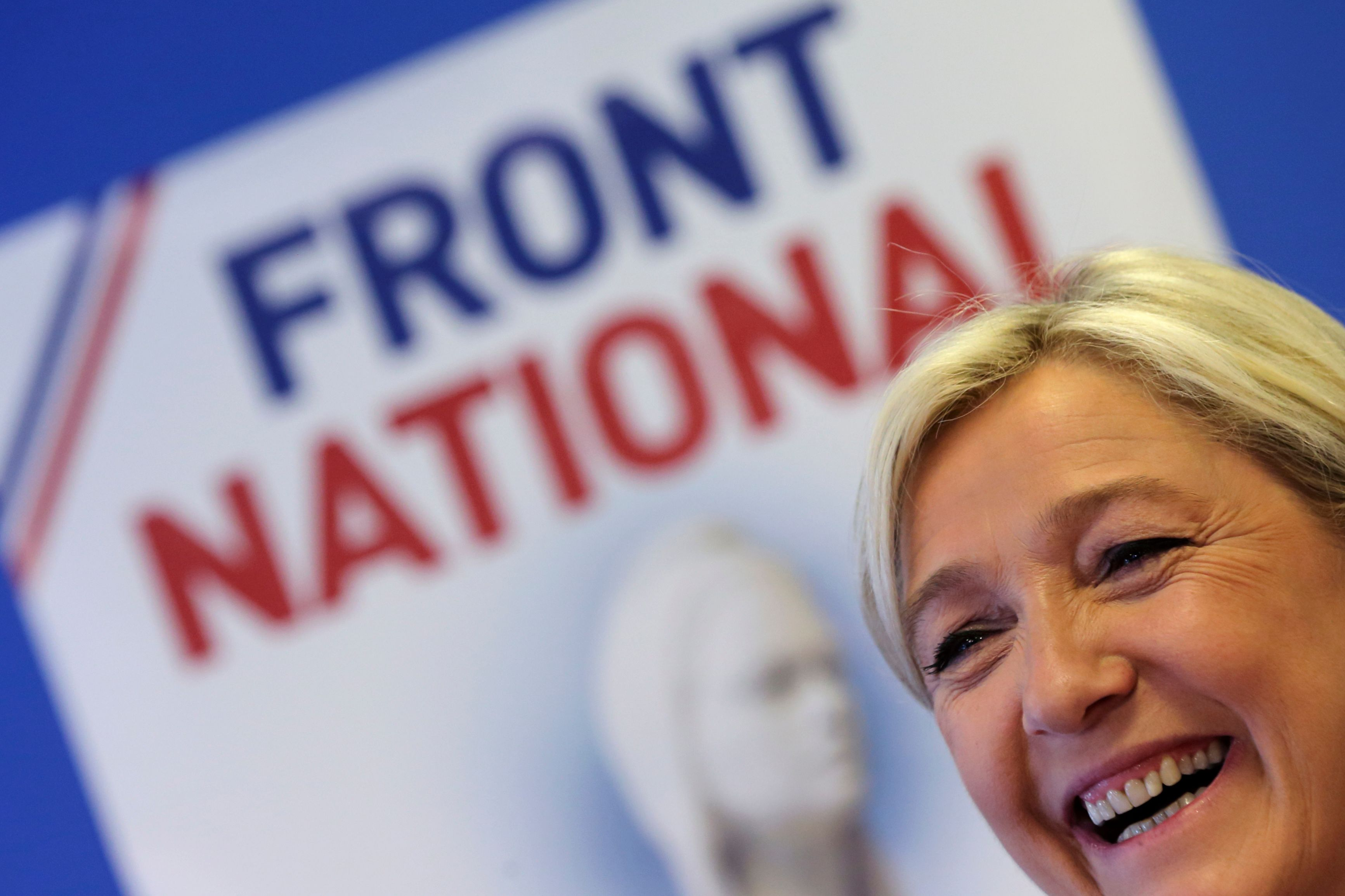 Le succès de Marine Le Pen aux européennes a beaucoup marqué les Français en 2014