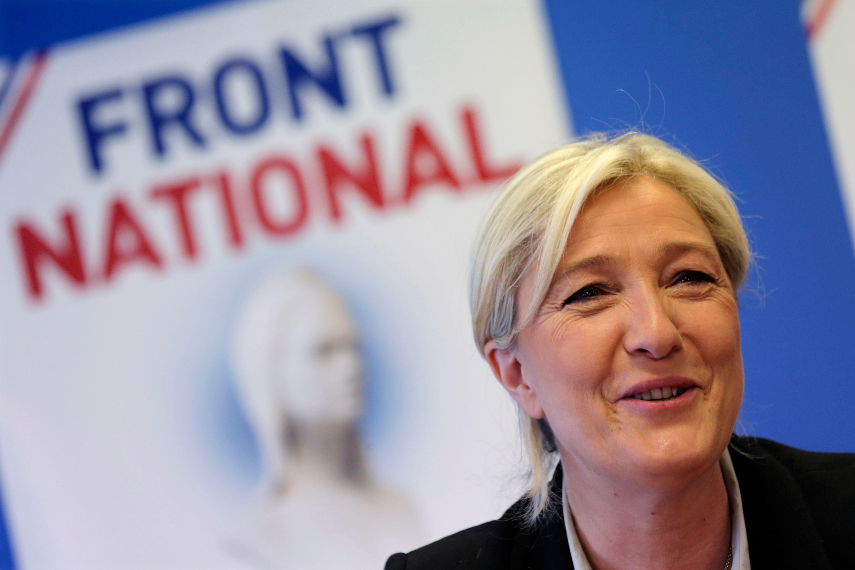Marine Le Pen n'a pas tranché la question d'un changement de nom du FN