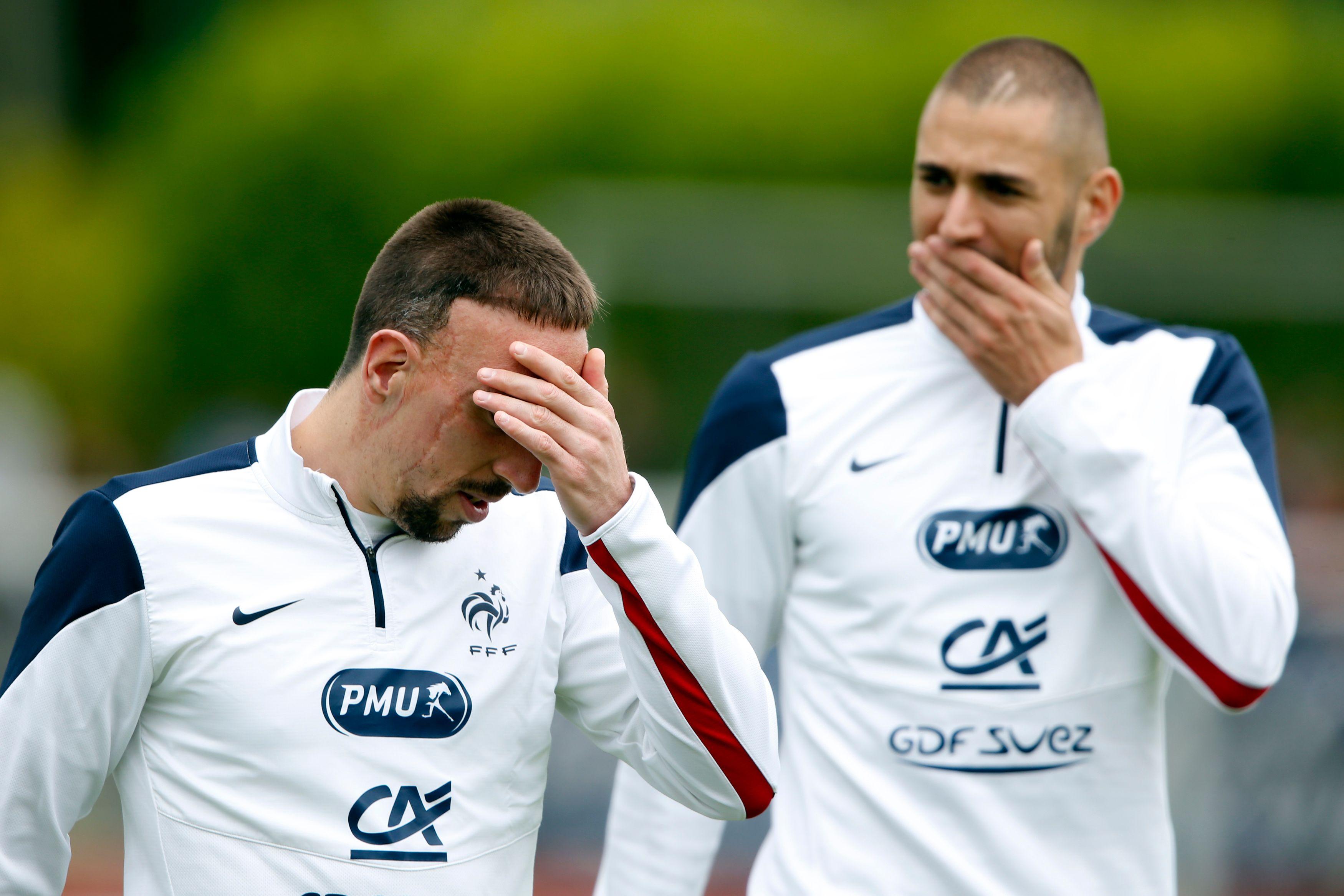 Franck Ribery ne participe pas à la coupe du monde au Brésil