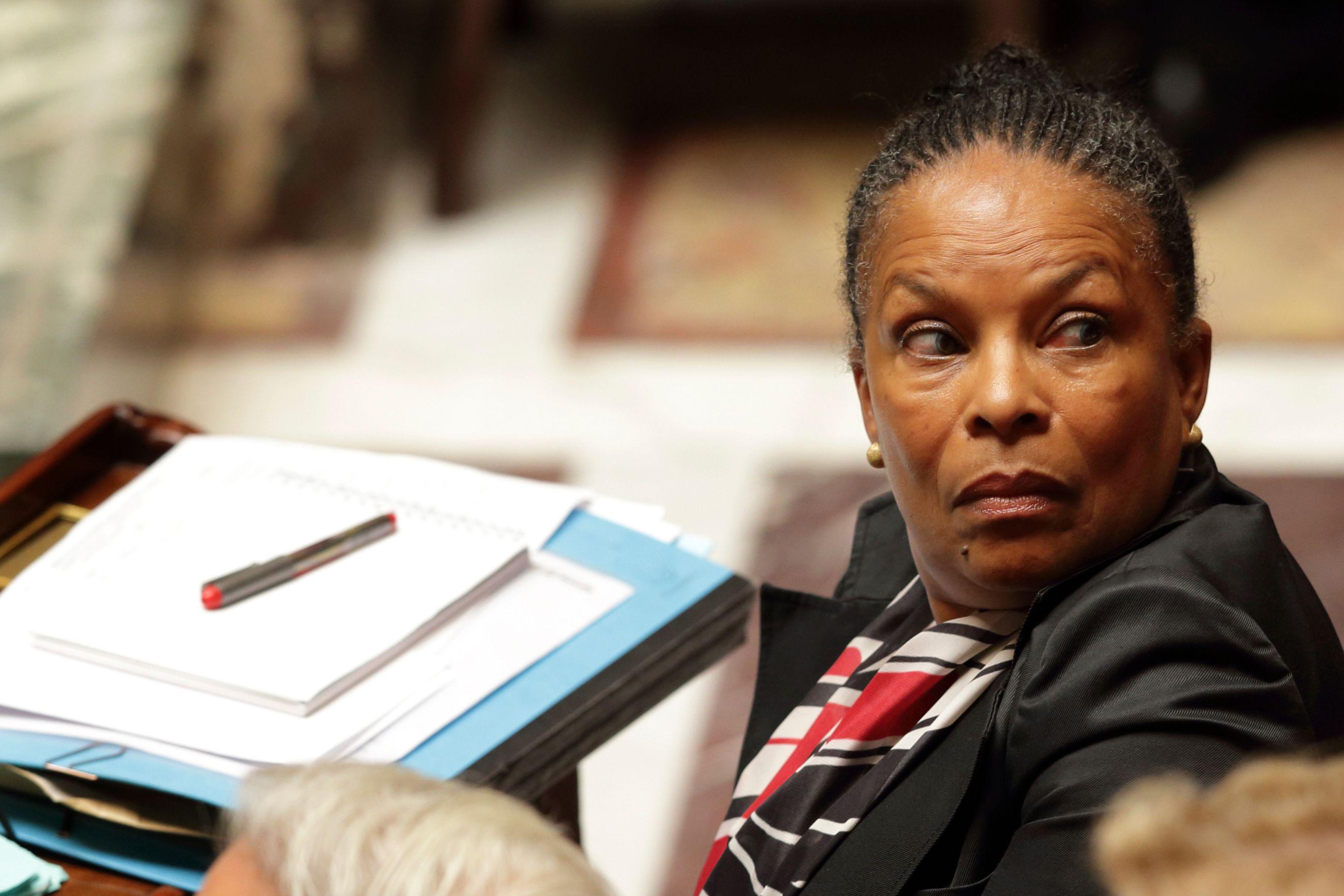 Christiane Taubira est confirmée à son poste