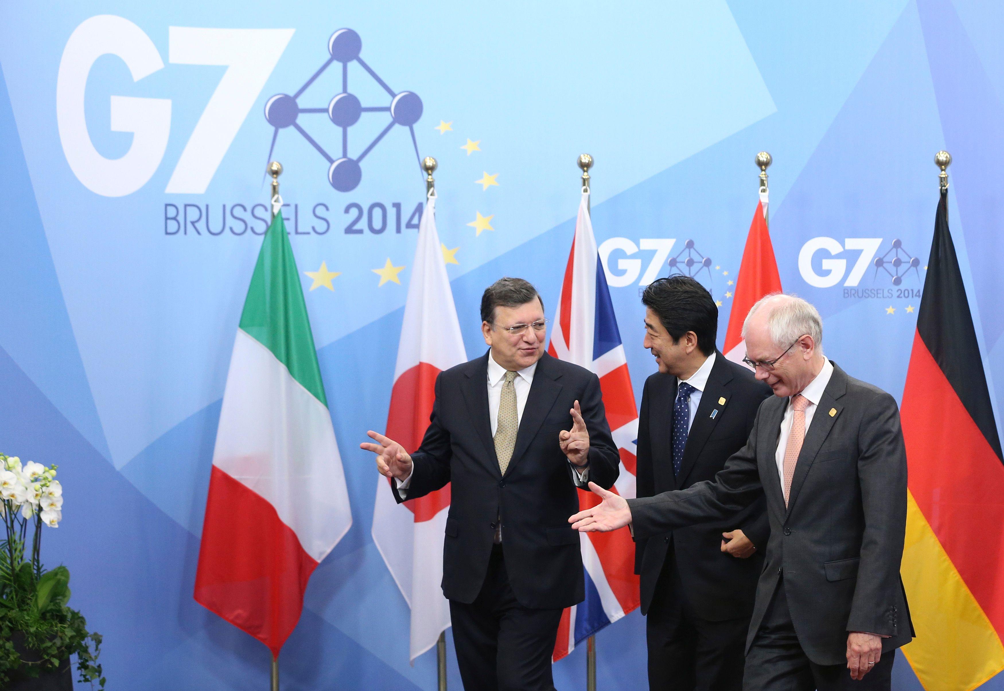 Les G7 sont-ils devenus totalement inutiles?