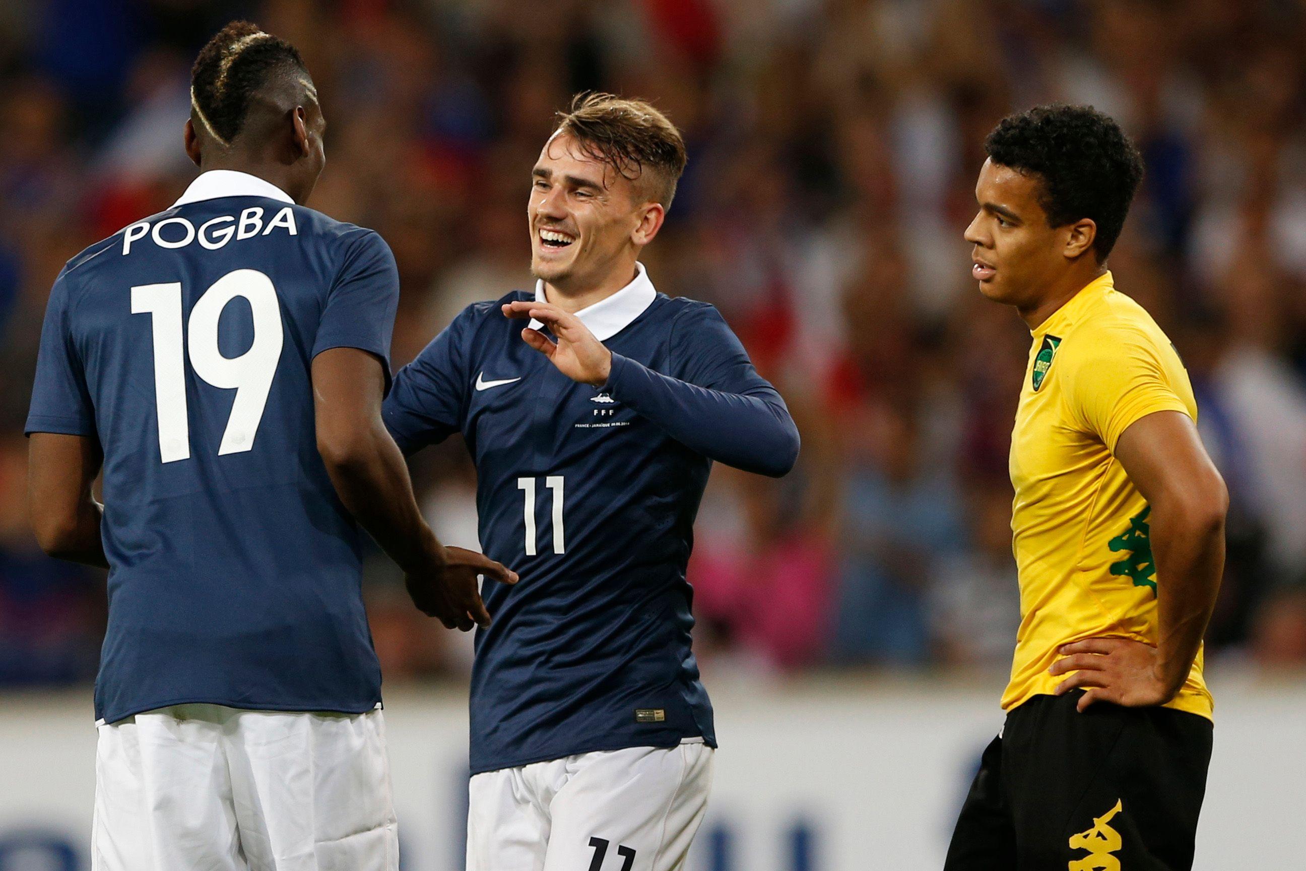 Paul Pogba et Antoine Griezmann très complémentaires en Bleu