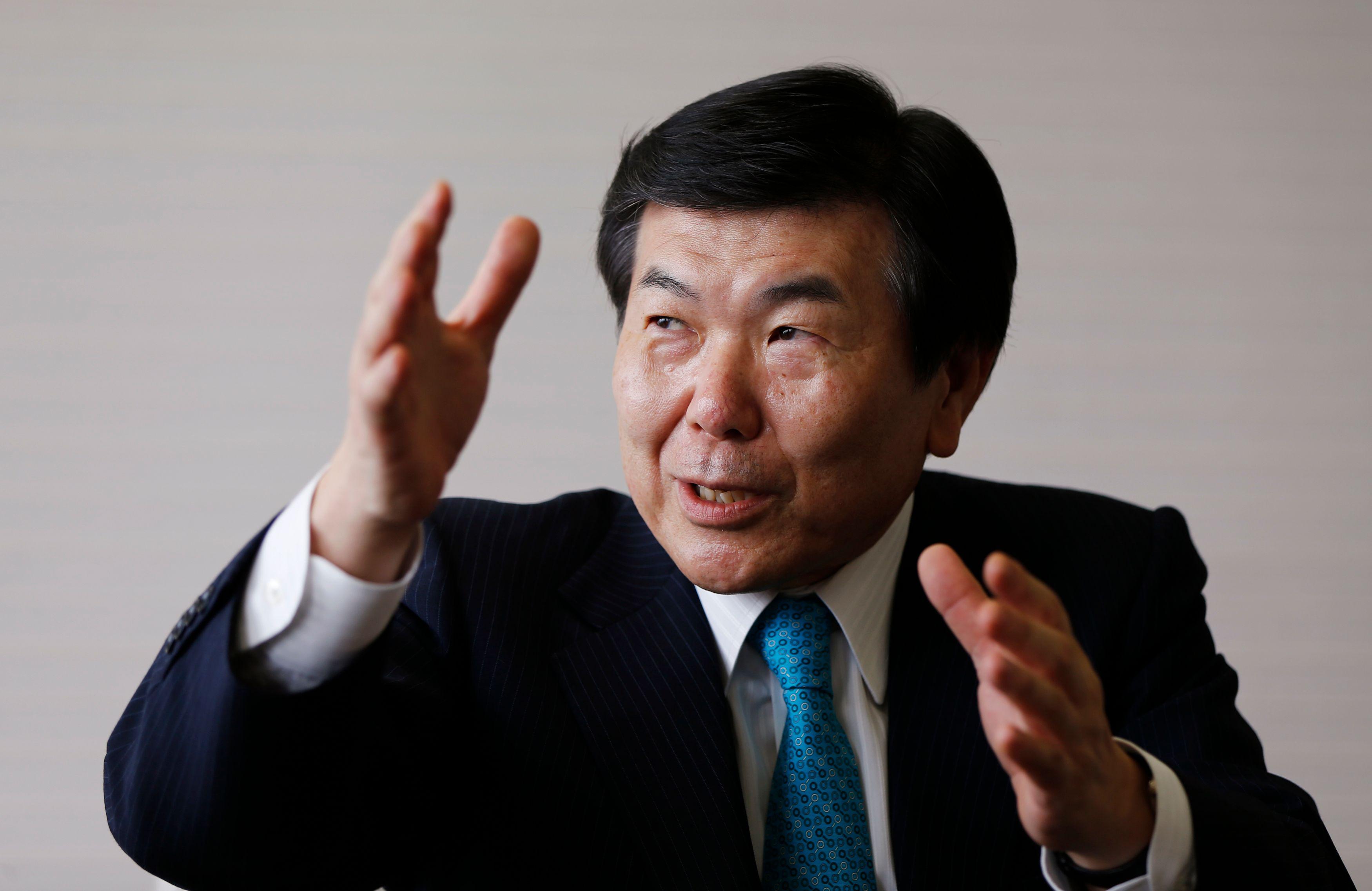 Le président de l'entreprise centenaire Mitsui .