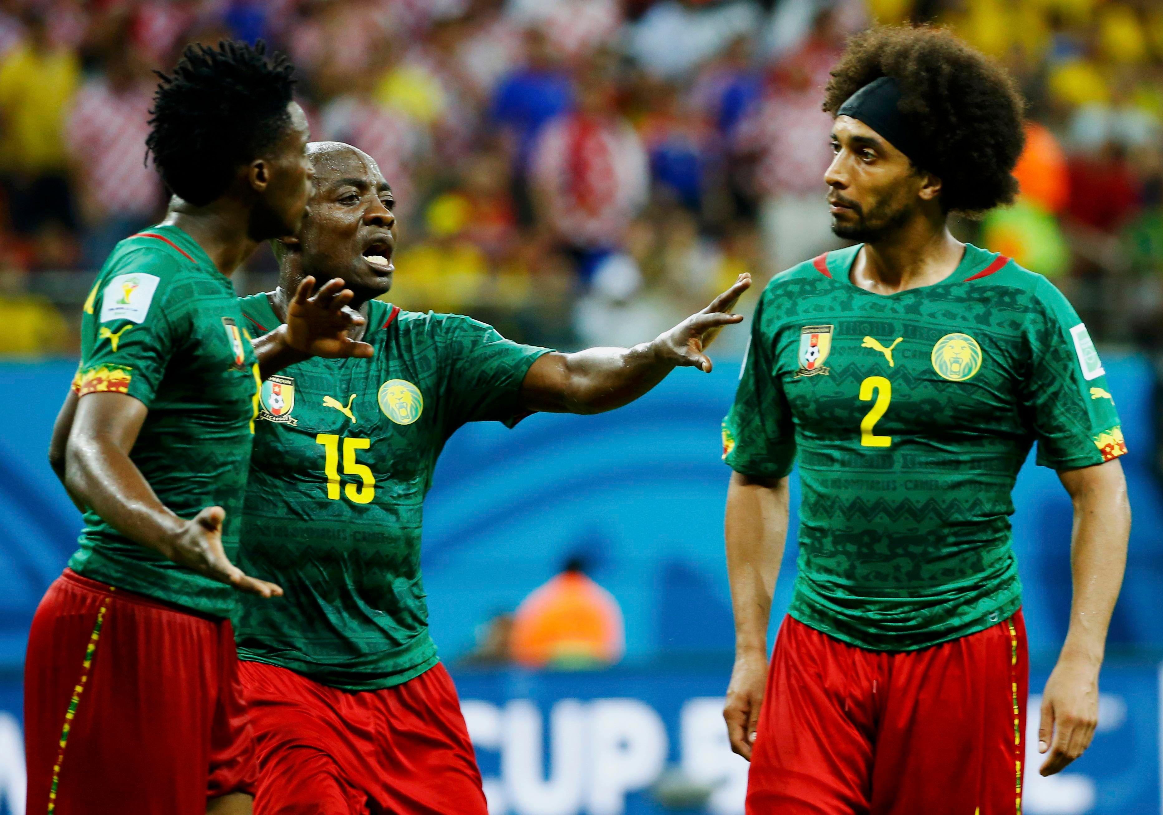 Tension chez les Camerounais contre la Croatie
