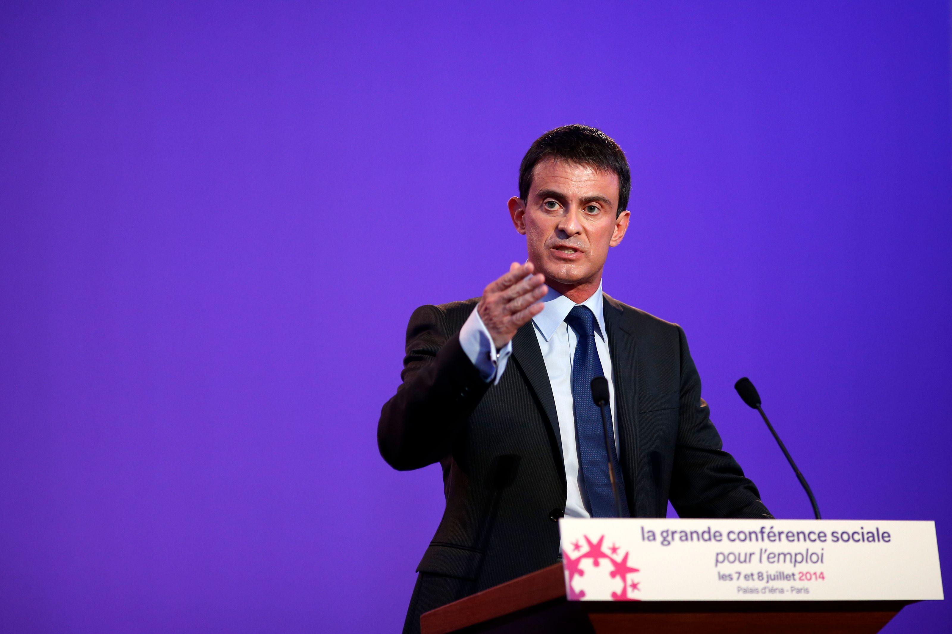 Manuel Valls a expliqué aux Français dans quelle direction va l'action gouvernementale