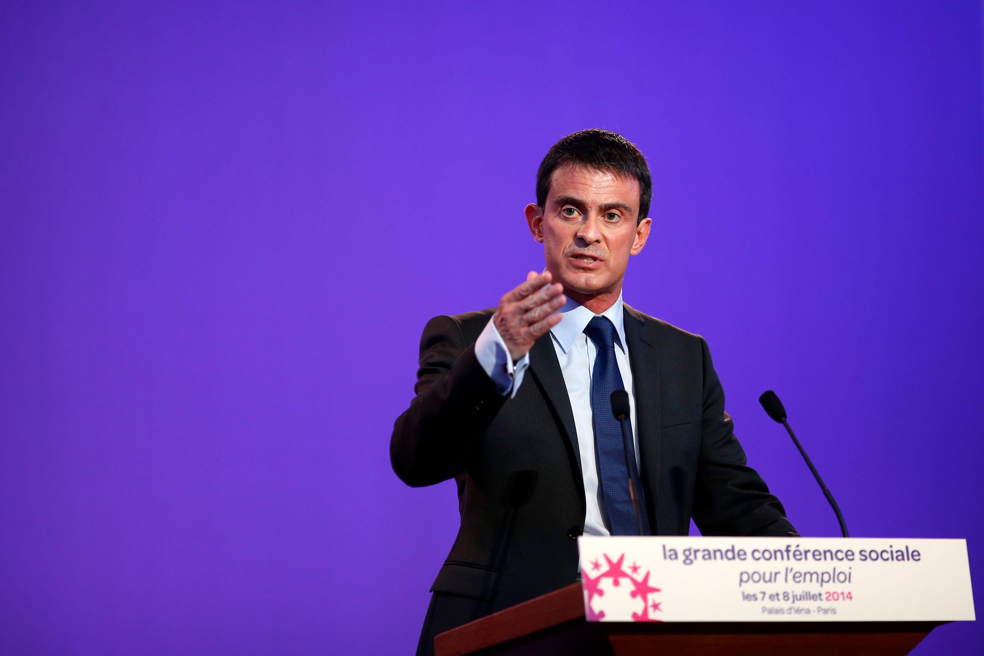 Manuel Valls a condamné les violences qu'il y a eu dimanche à Sarcelles