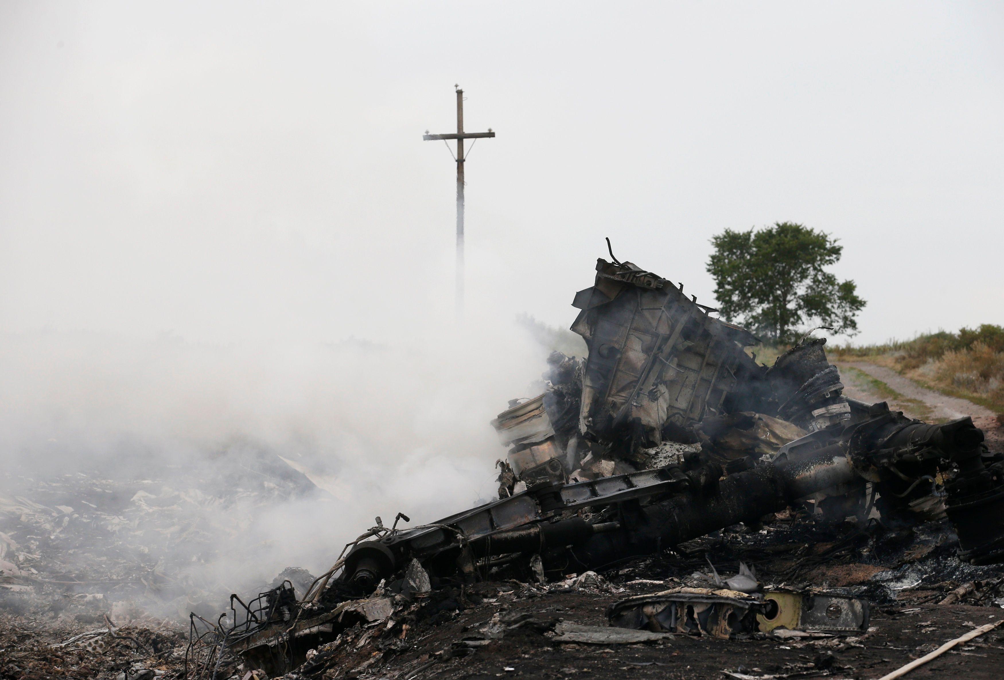 Il n'y a pas de survivant au crash du vol MH17.