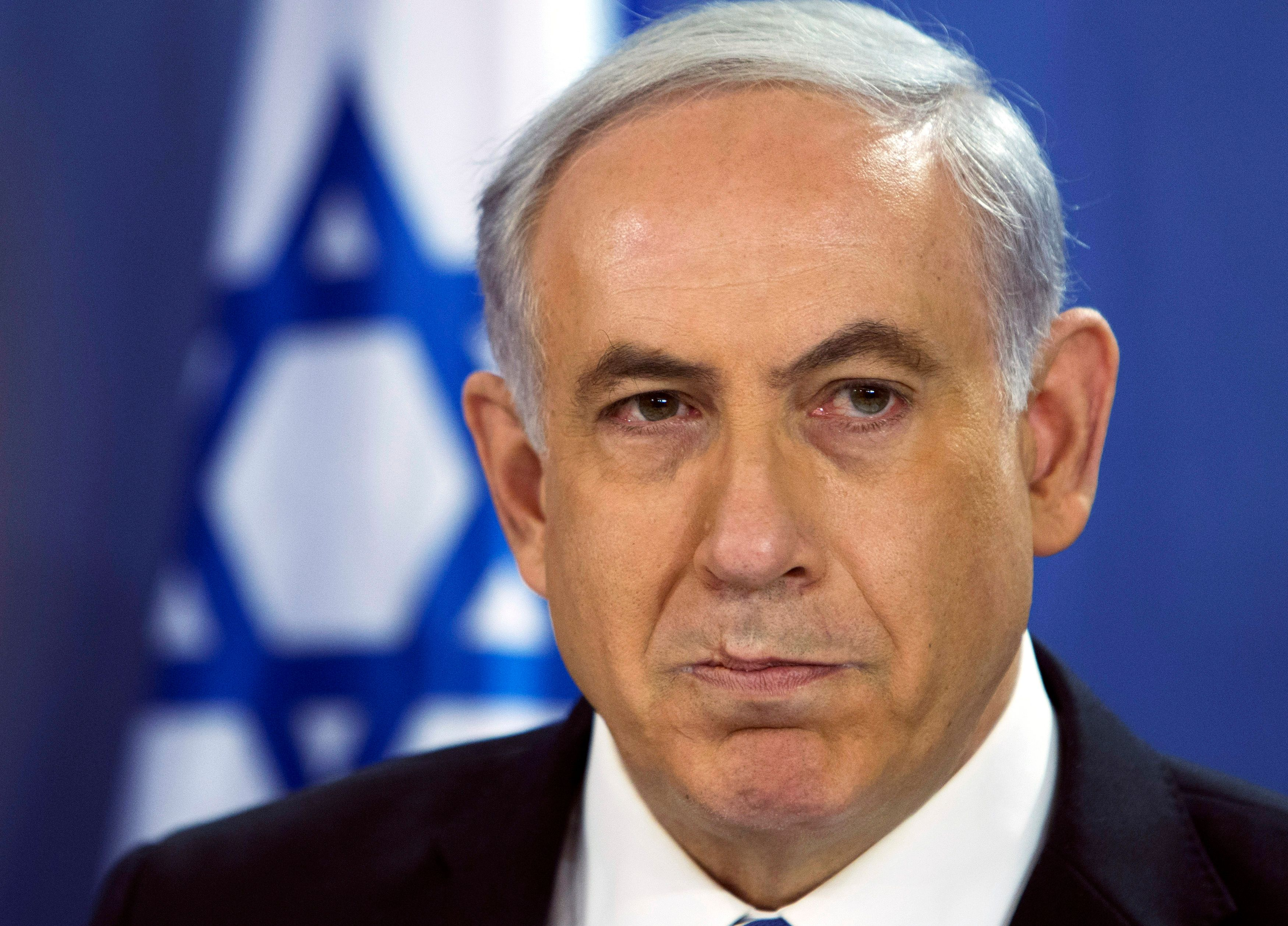 Benyamin Netanyahou, Primier ministre israelien.