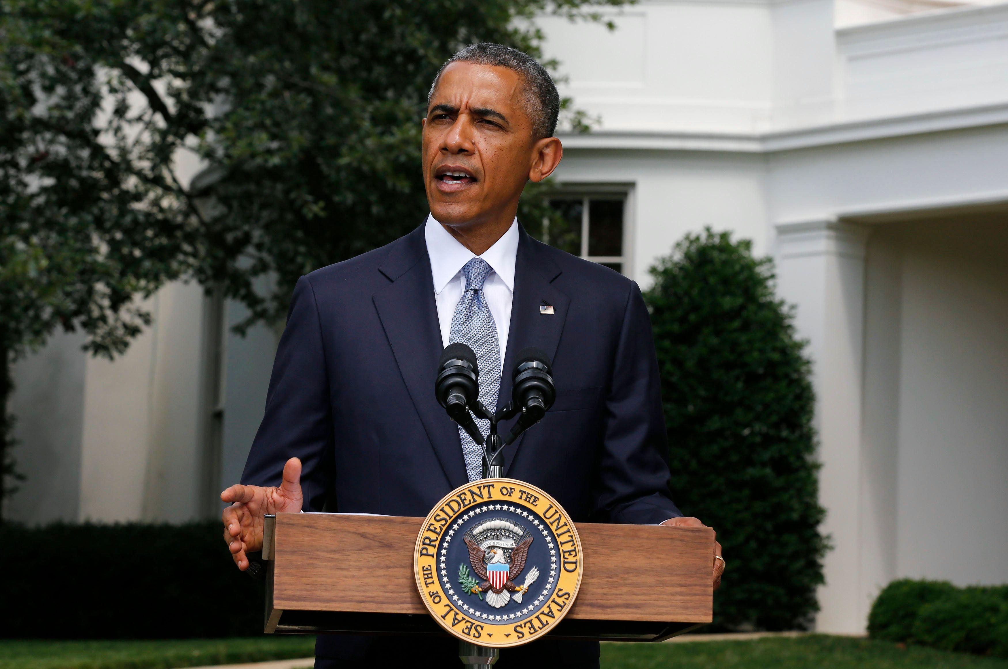 Dans un entretien accordé vendredi au quotidien New York Times, le président américain déclare ne pas exclure un usage élargi des frappes militaires en Irak