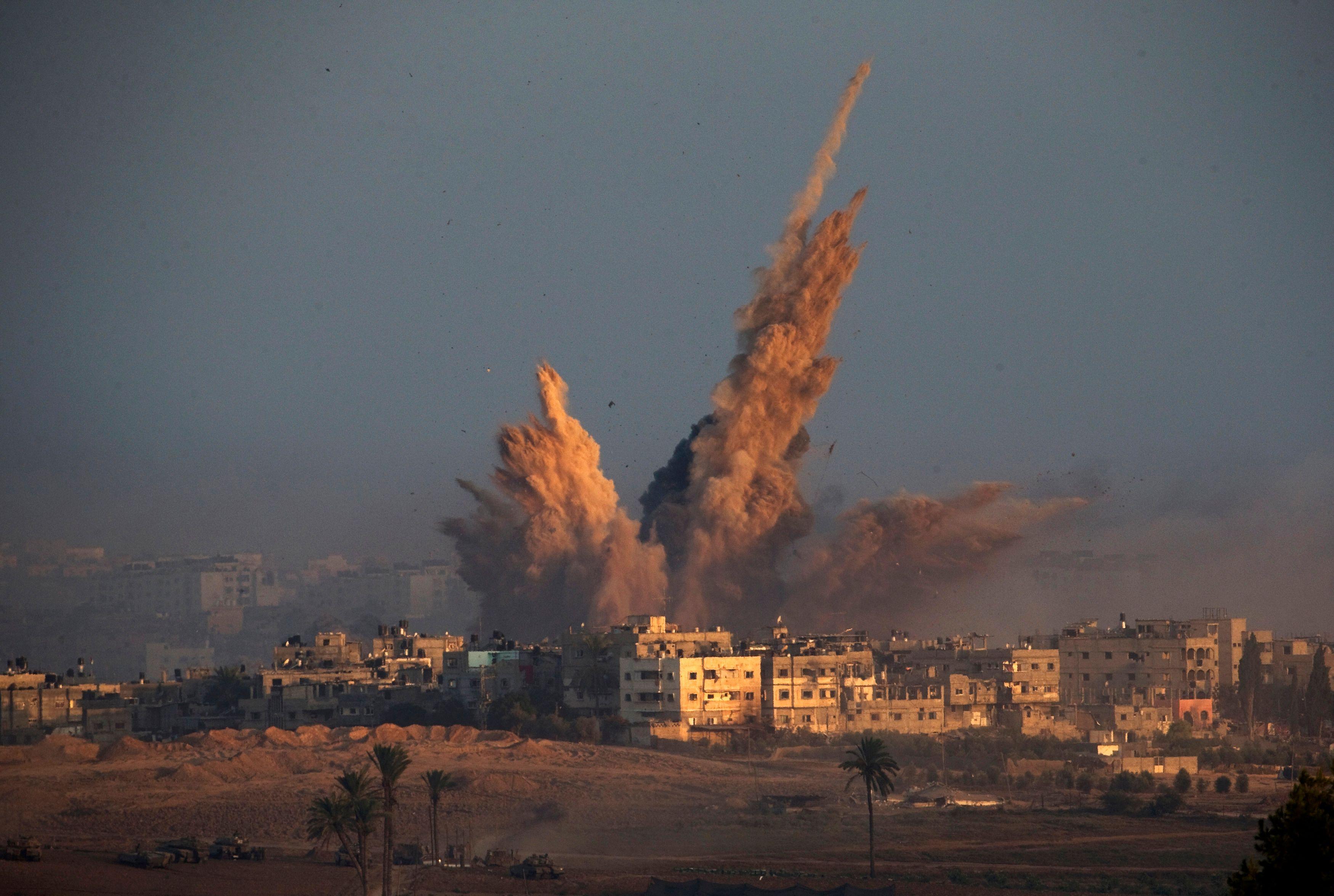 Les bombardements sur la bande de Gaza se poursuivent