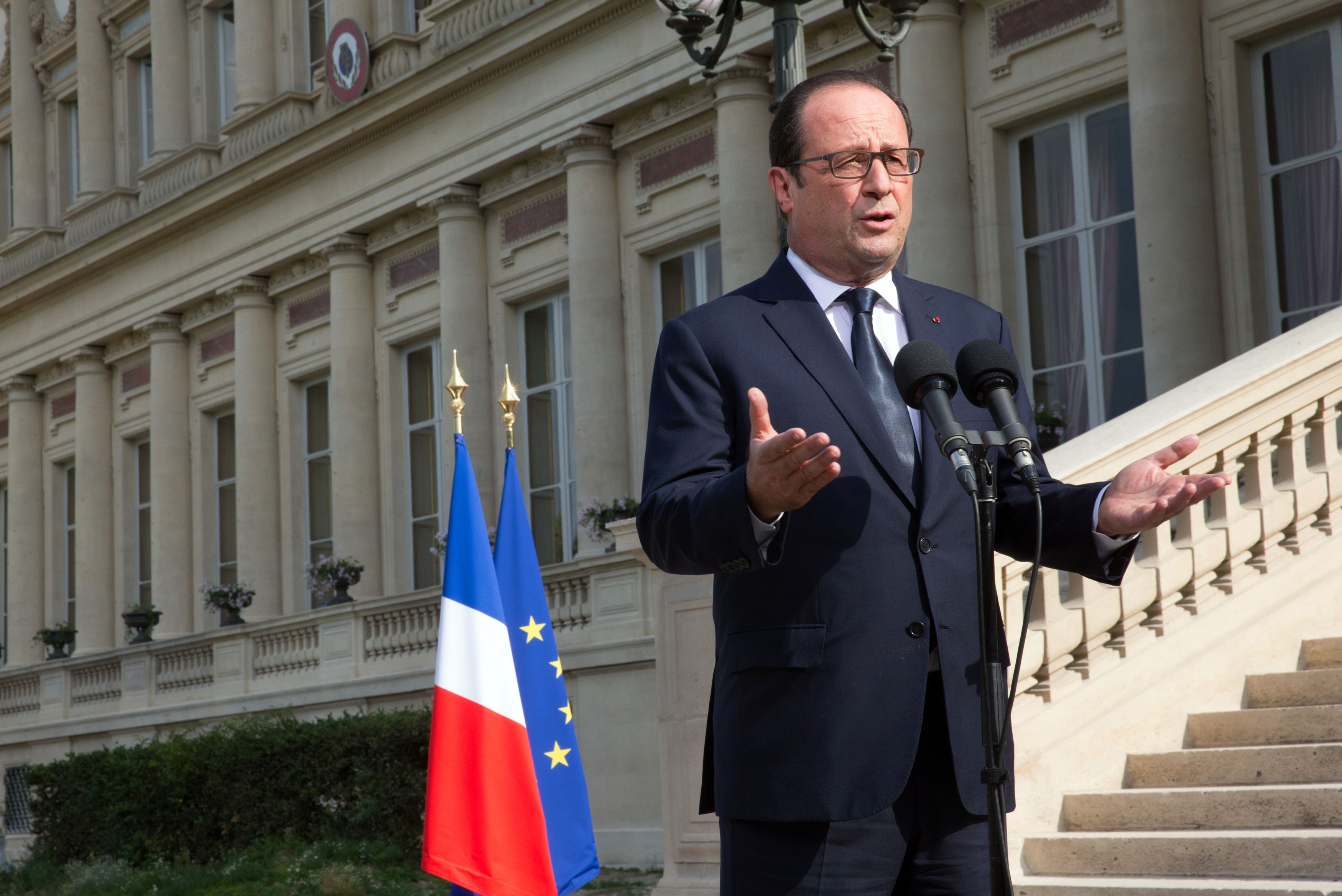 François Hollande multiplie les interventions dans la presse