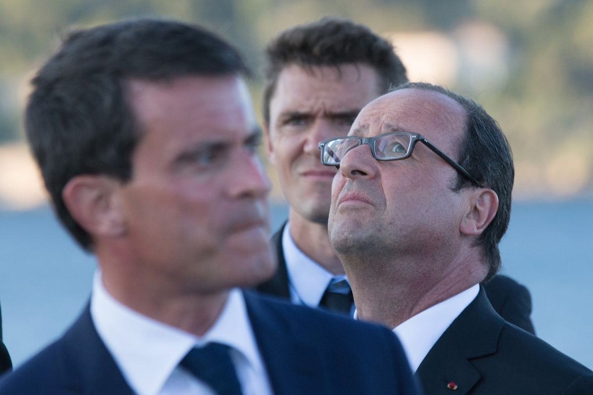 François Hollande est toujours en souffrance dans les enquêtes de popularité, Manuel Valls, lui reste stable