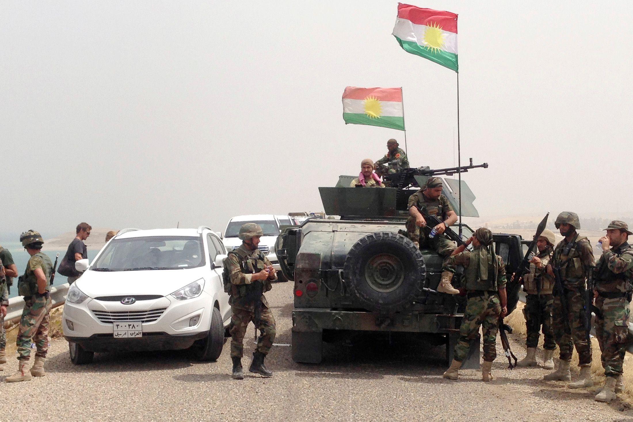 L'Allemagne arme directement les combattants kurdes (peshmergas) afin de lutter contre l'avancée de l'Etat islamique.