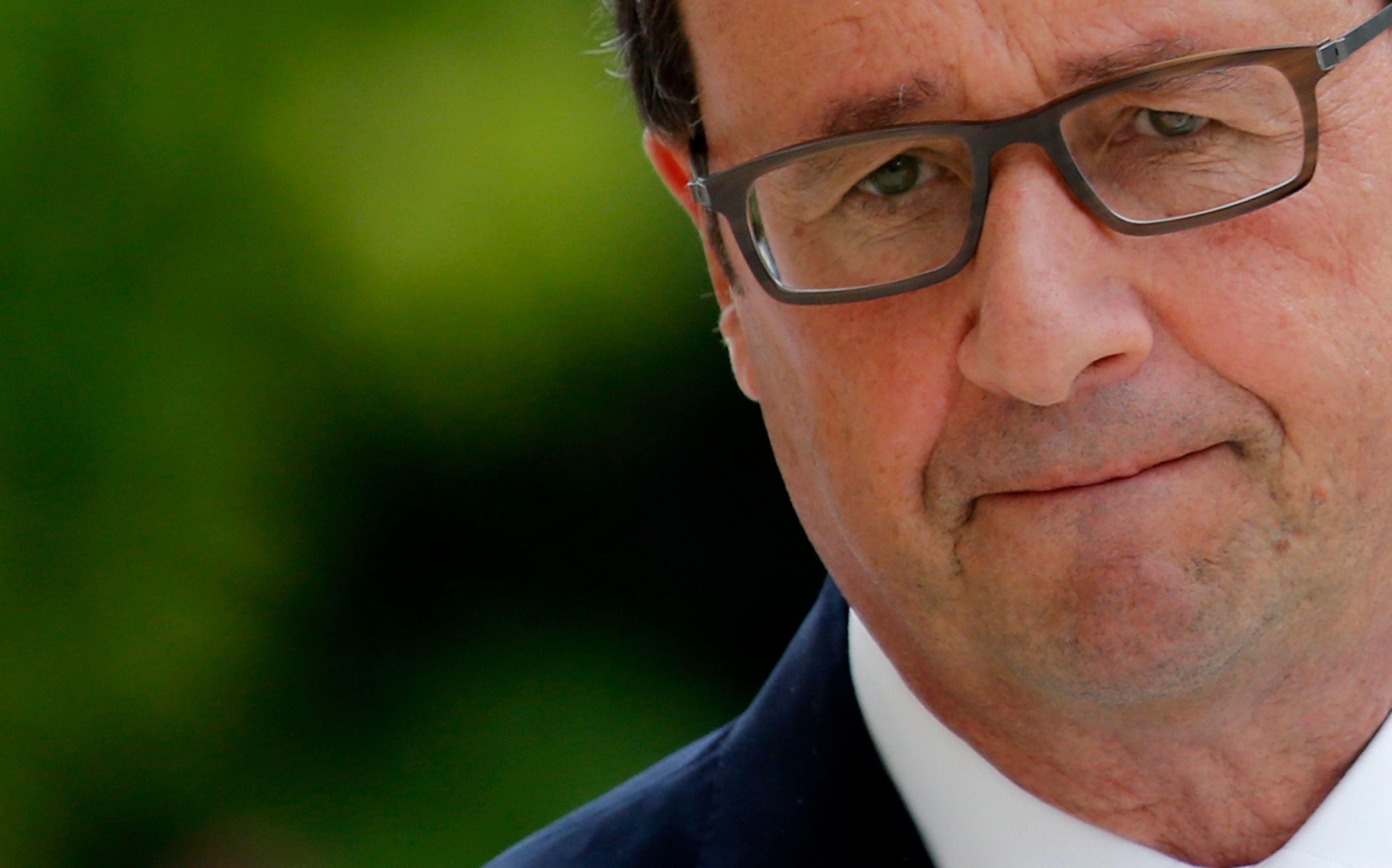 François Hollande gagne 3 points dans un sondage