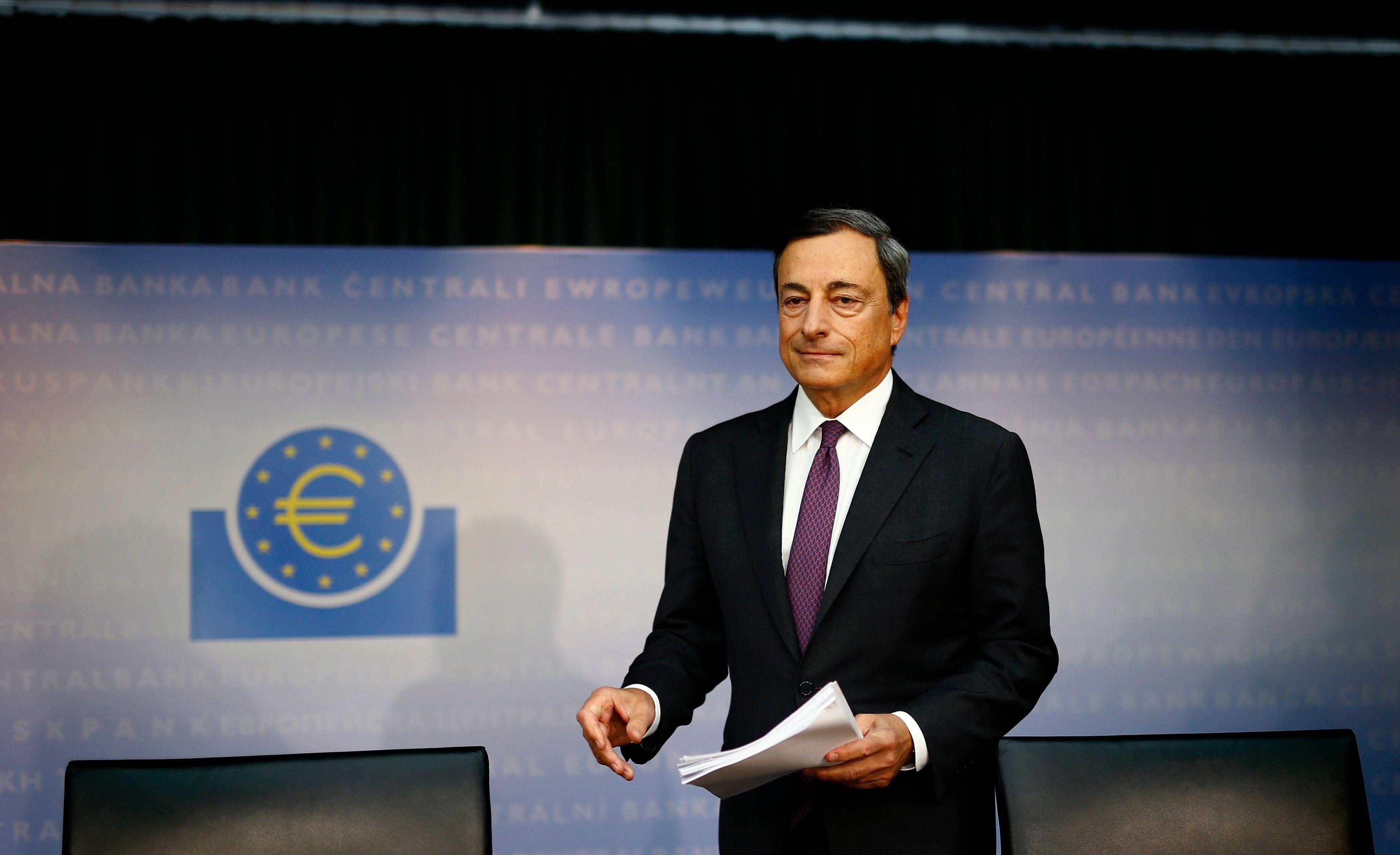 Mario Draghi, le président de la BCE