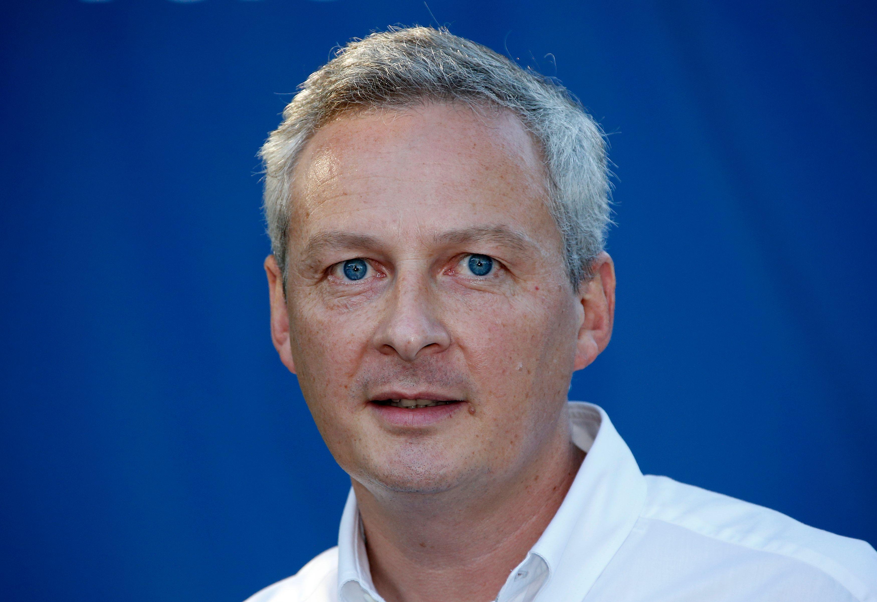 Bruno Le Maire était en meeting à Nice