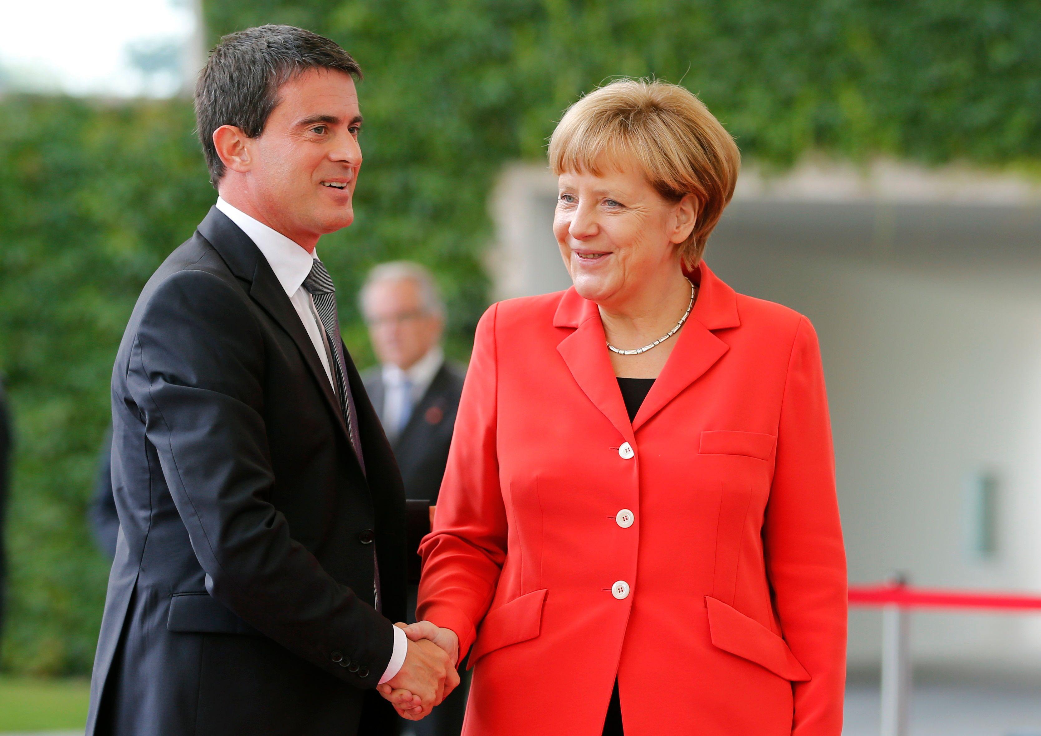 Le Premier ministre français et la chancelière allemande déjeunent ensemble ce lundi 22 septembre.