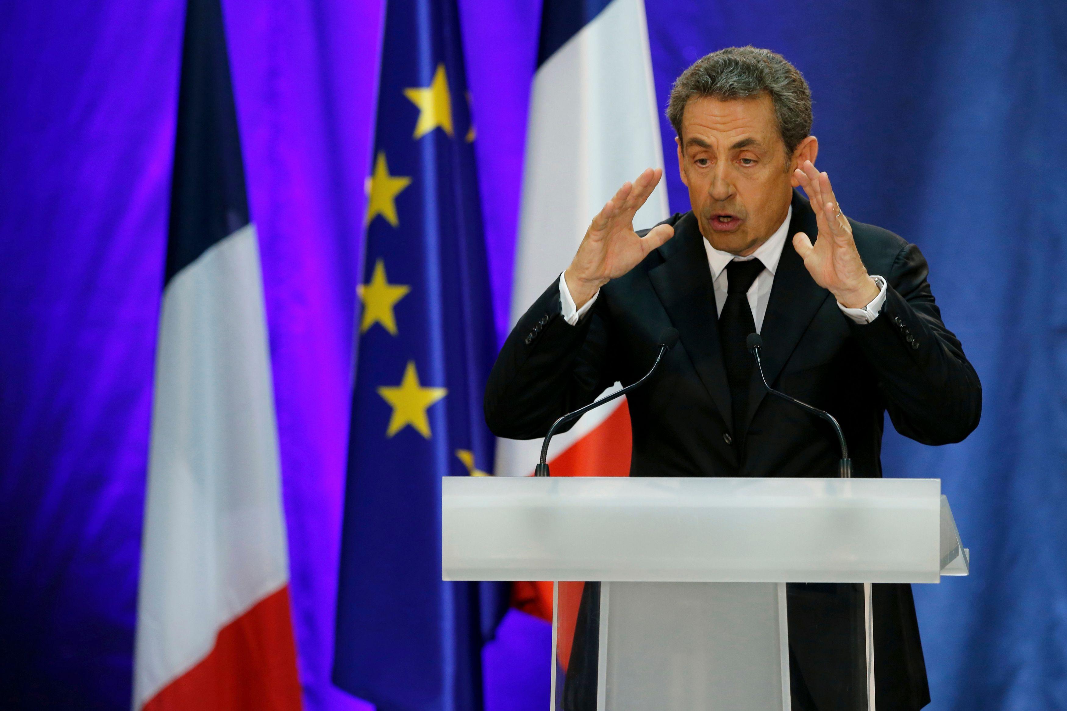 Revivez le meeting de Nicolas Sarkozy à Paris