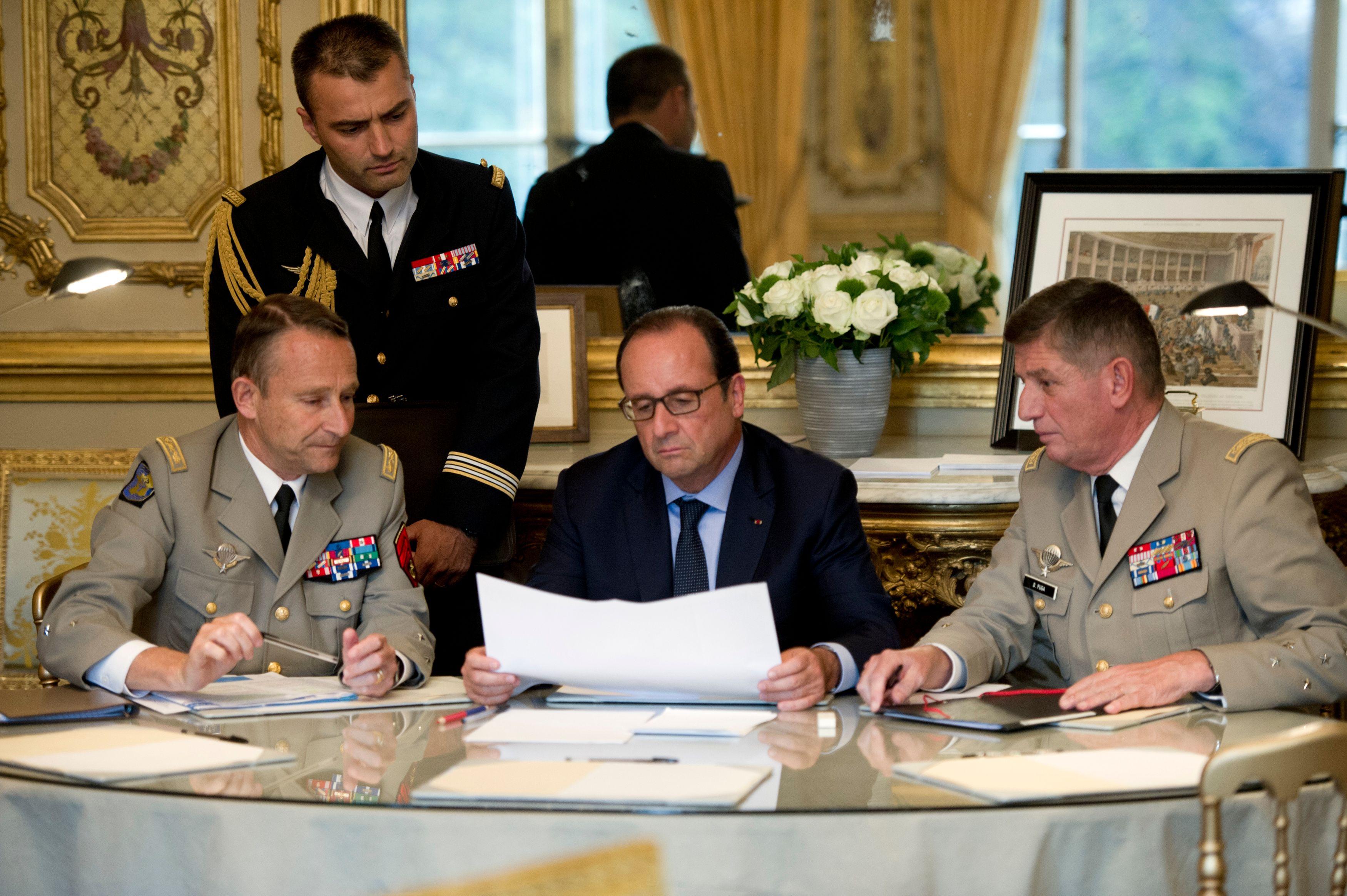 Les 3,8 milliards d'euros de crédit seront alloués au ministère de la Défense d'ici à 2019.