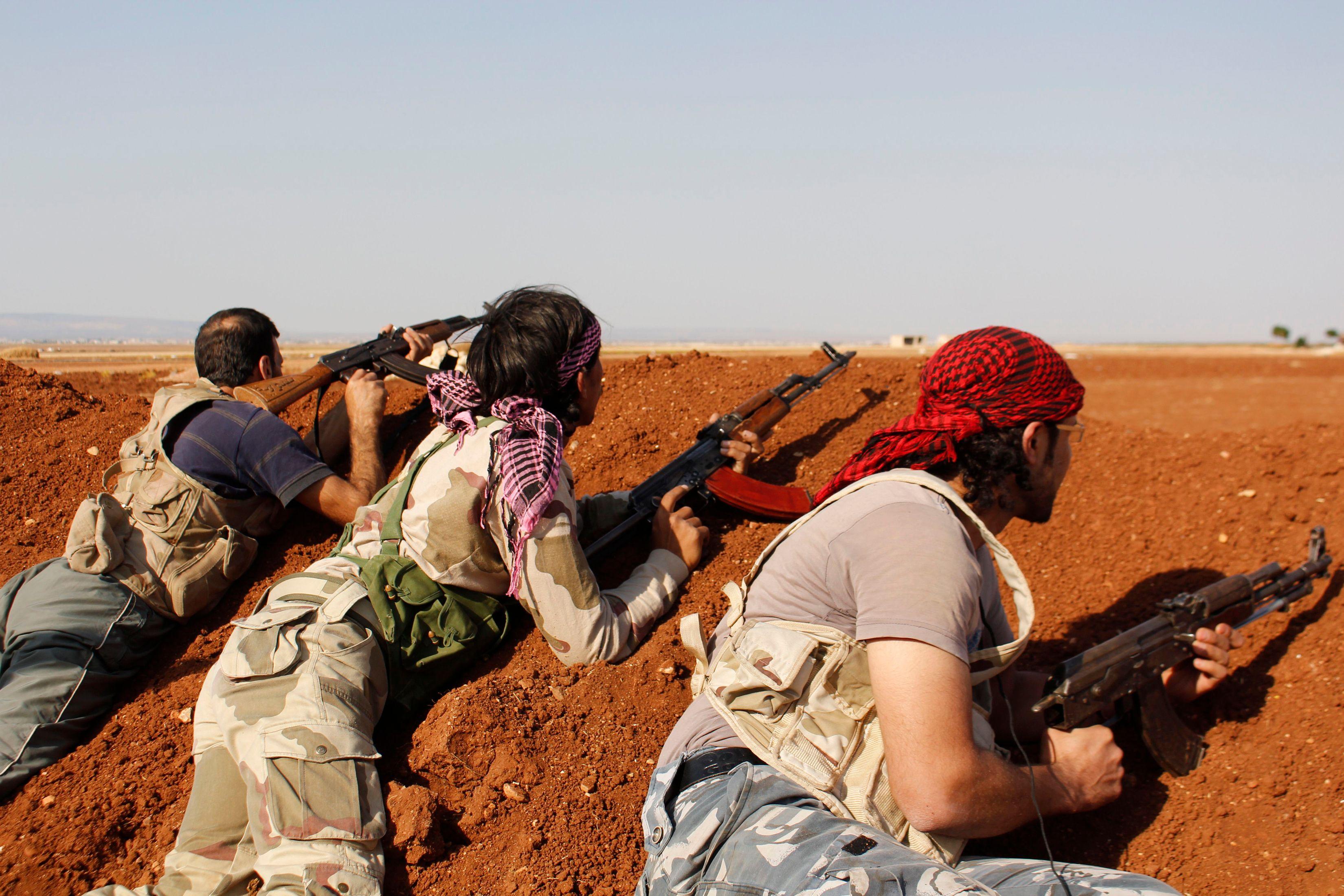 """Etat islamique : un commando américain tue un """"leader"""" du groupe terroriste en Syrie"""