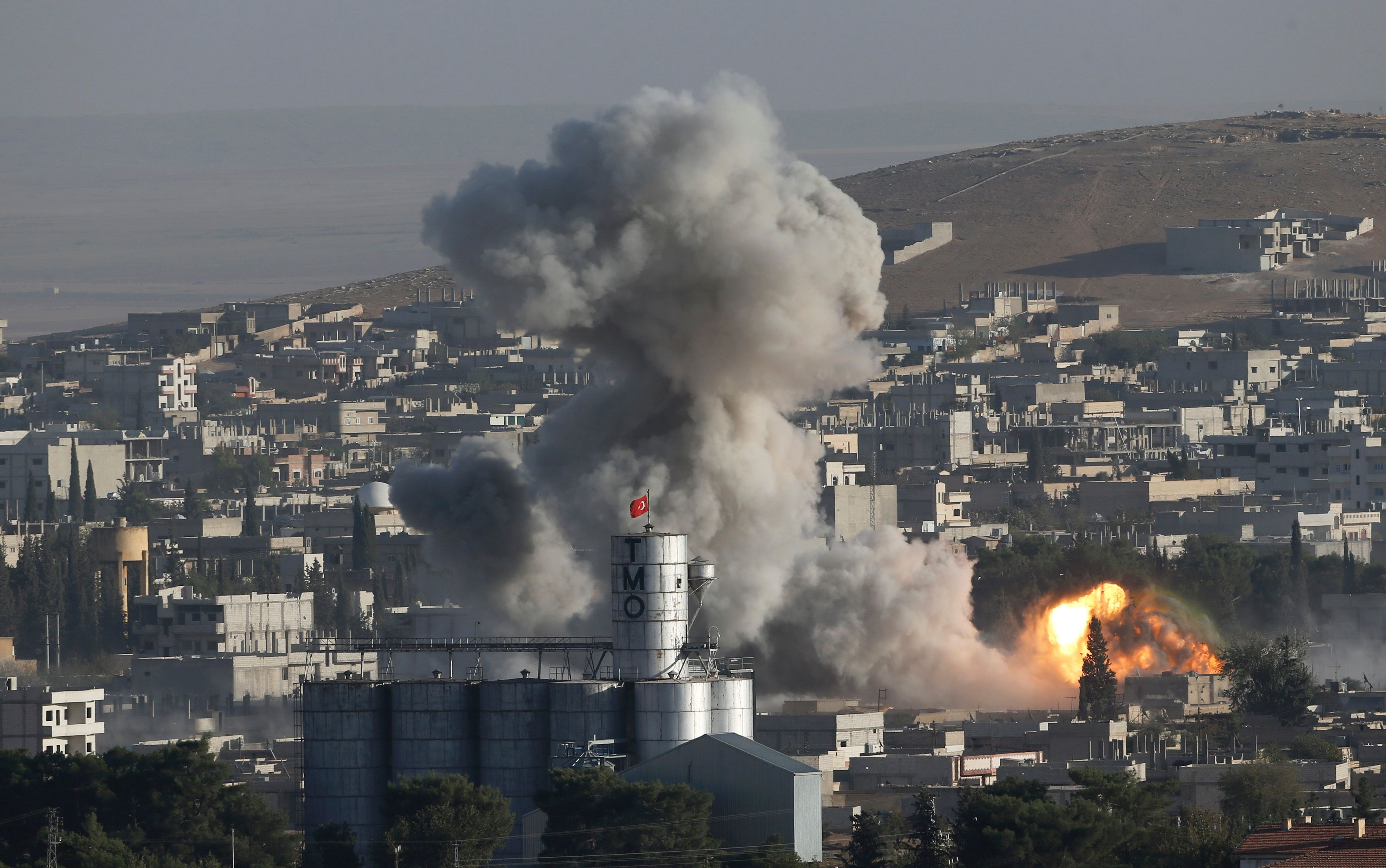 La victoire des Kurdes à Kobané pourrait être un moment--clé du conflit.