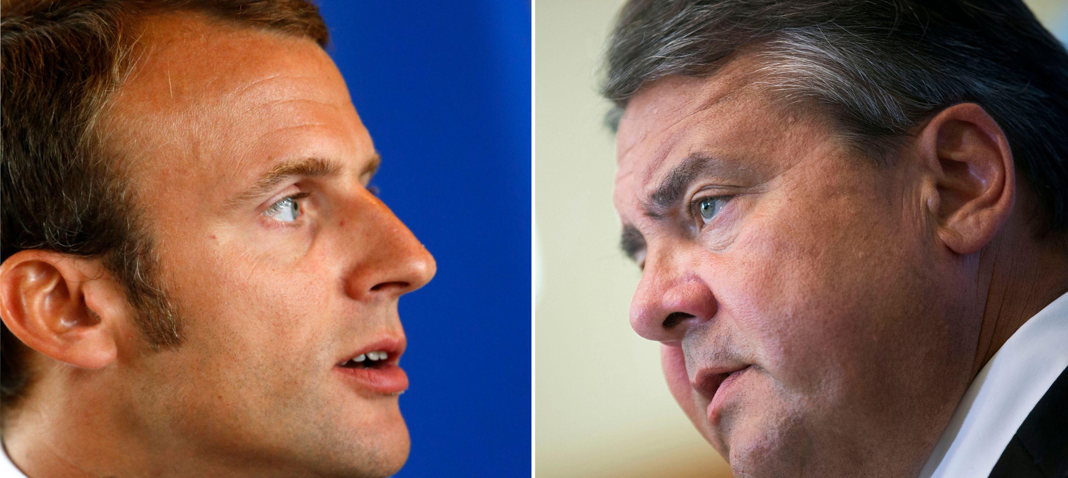Emmanuel Macron et Sigmar Gabriel, les ministres de l'Economie vont pouvoir s'appuyer sur ce rapport