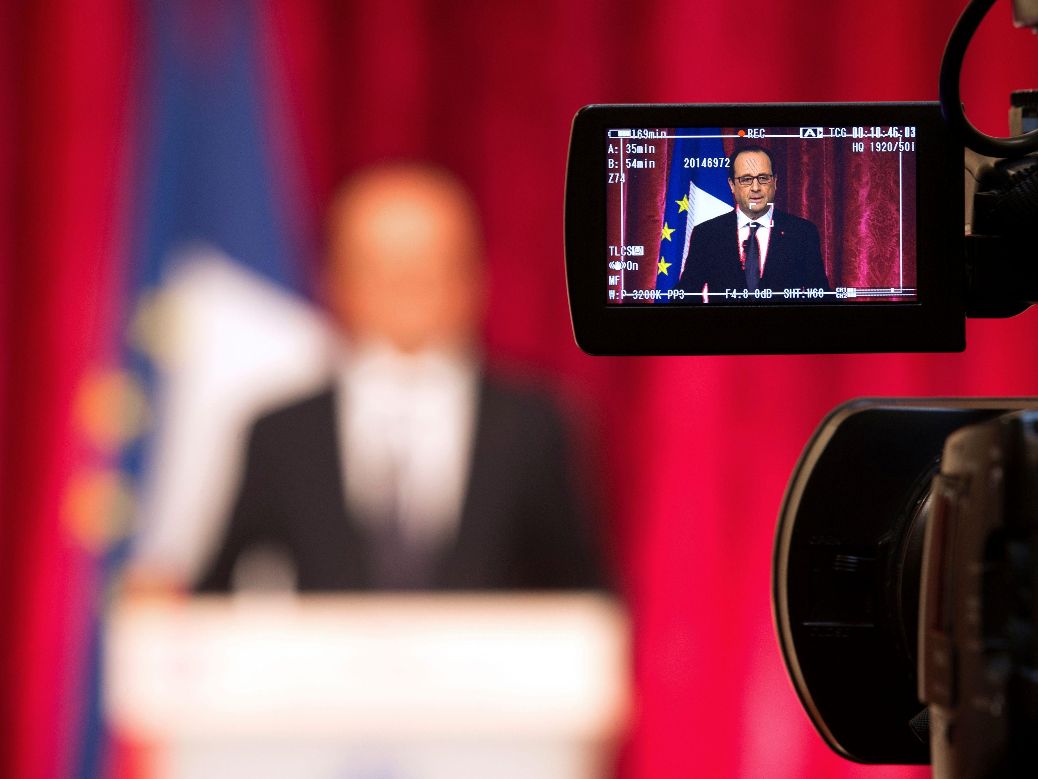 François Hollande lors de sa sixième conférence de presse lundi 7 septembre.