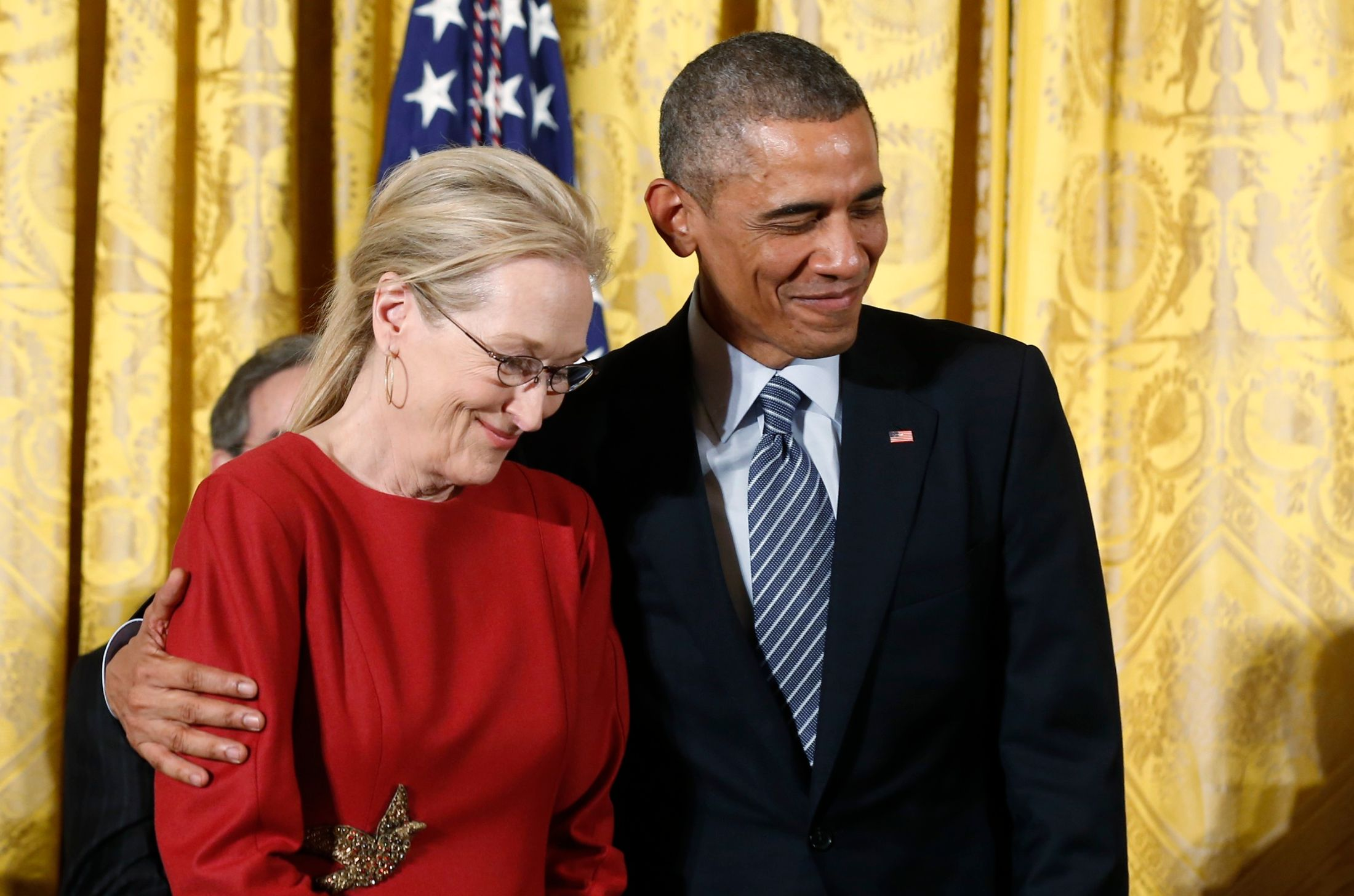 Meryl Streep et Barack Obama