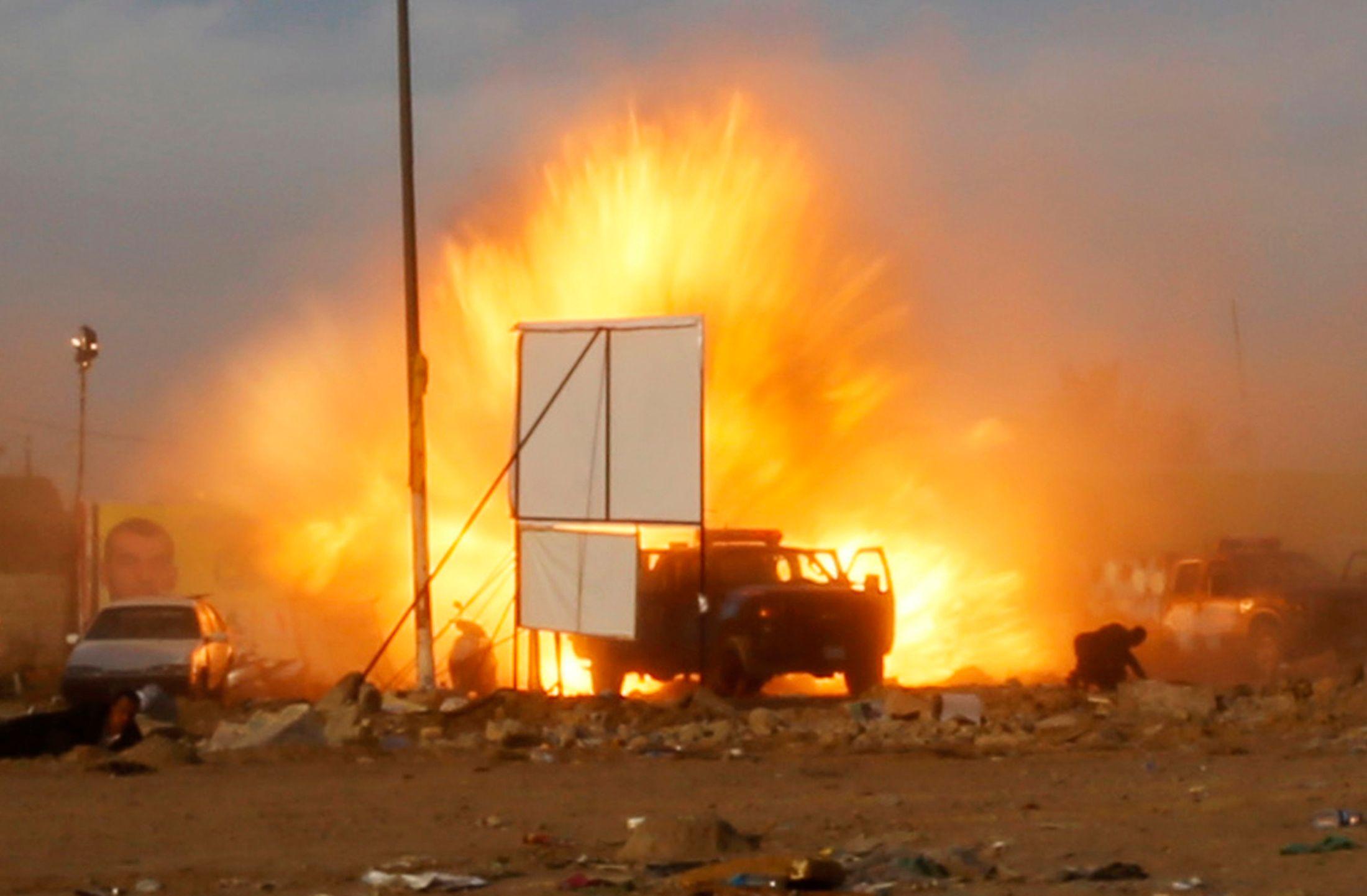 Un attentat à la voiture piégée à Bagdad.