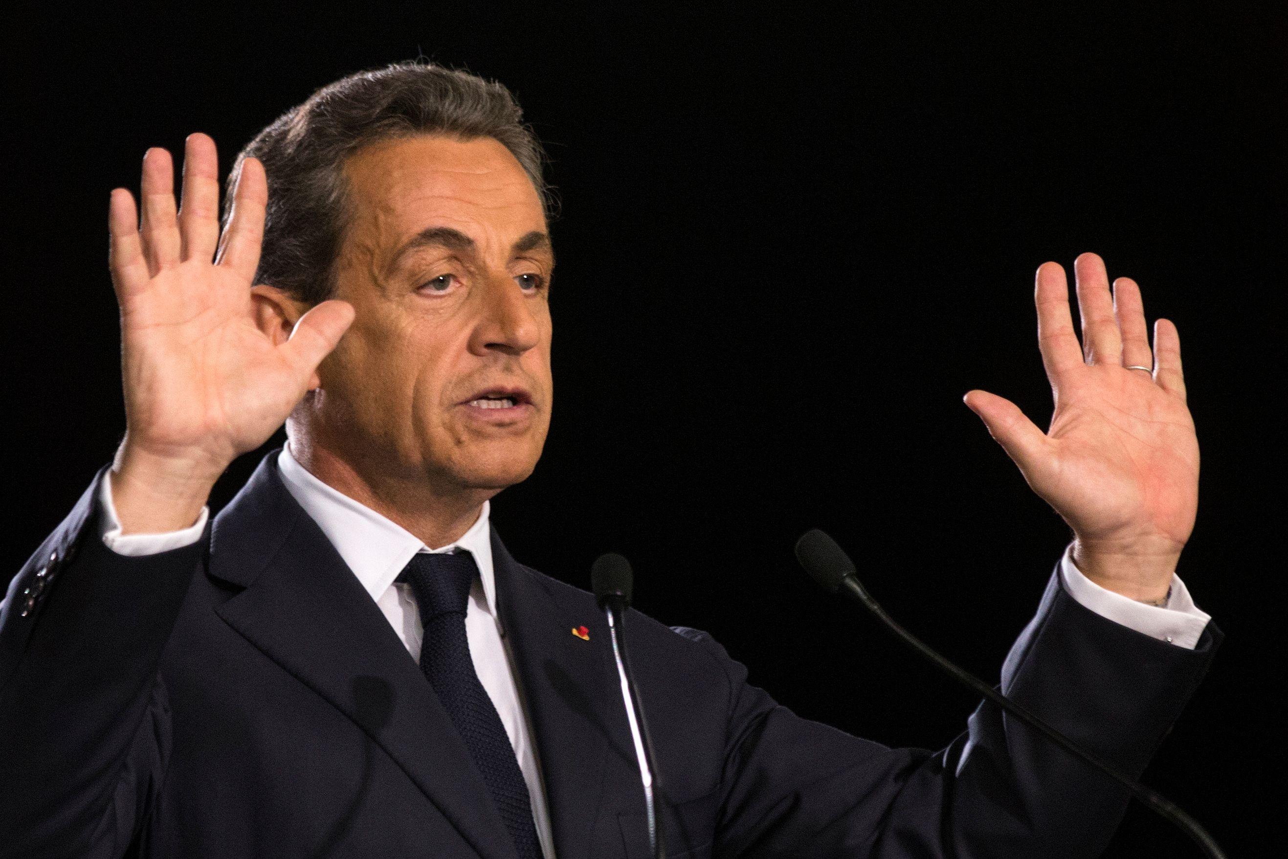 """Nicolas Sarkozy estime """"qu'il n'y a plus d'autorité de l'Etat""""."""