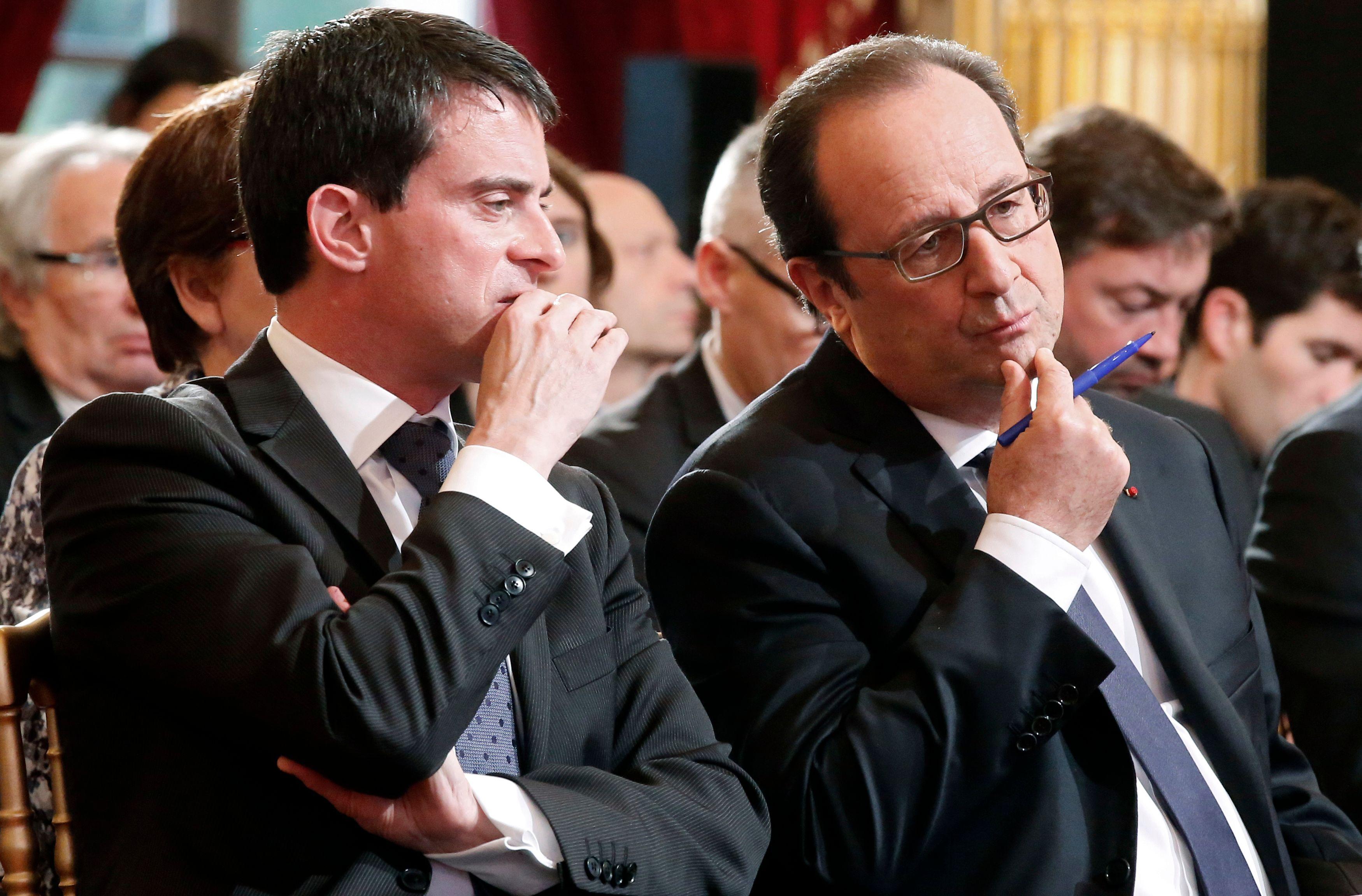 François Hollande et Manuel Valls partent à la reconquête de leur électorat.