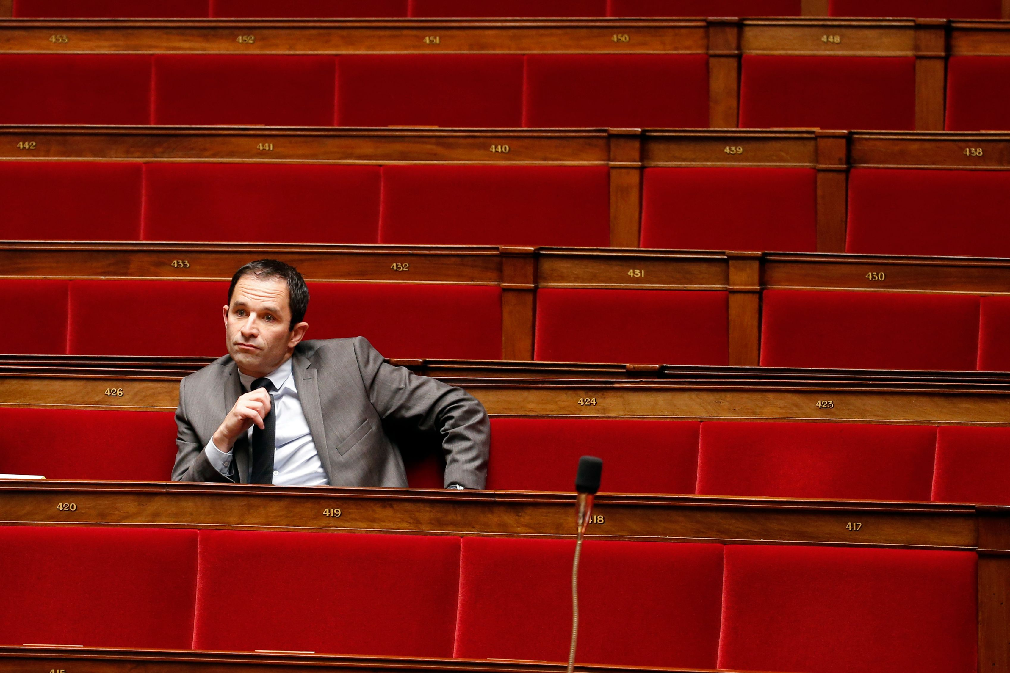 Avec Benoît Hamon c'est : la gauche perdra et Palestine vaincra…